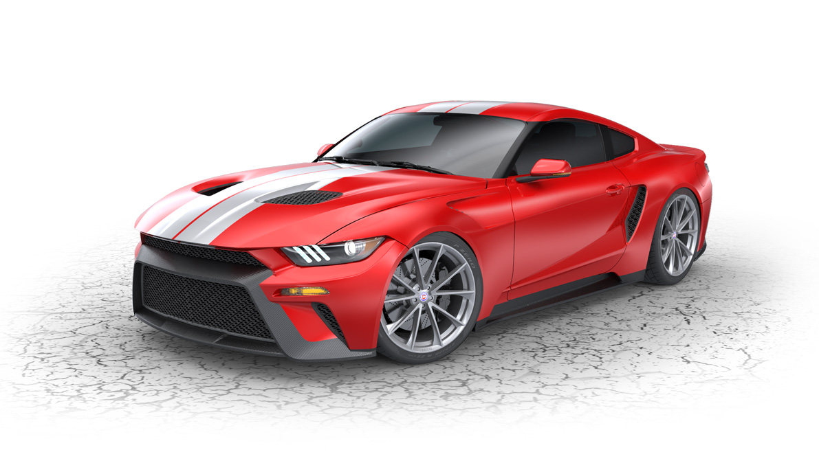 Ford Mustang Gt P  By Roush Performance Top Speed