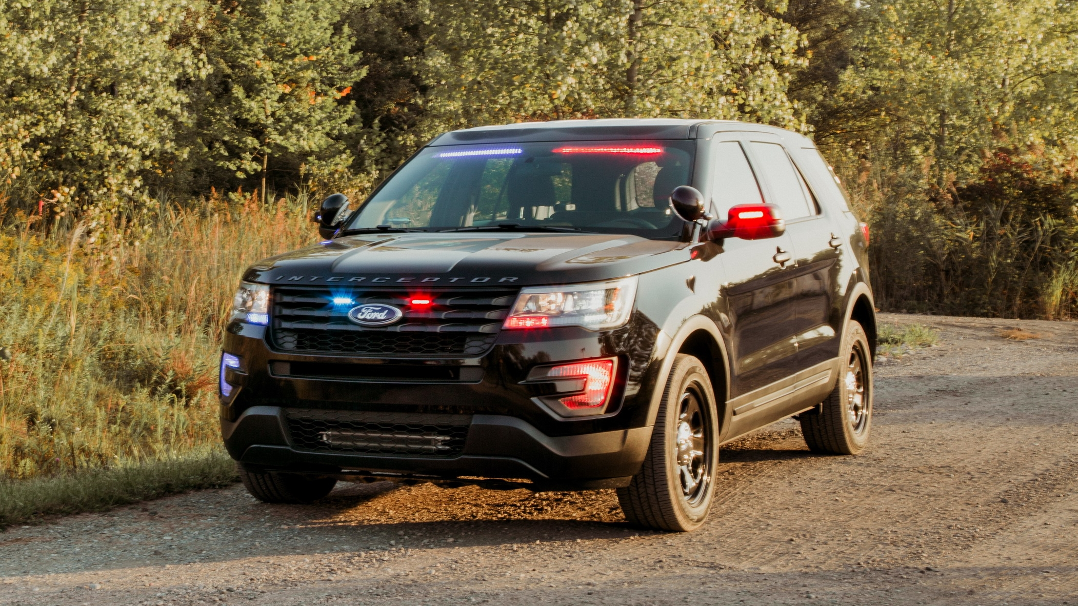 Ford Police Interceptor Utility Gets New Rear Spoiler ...