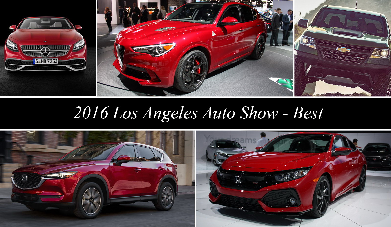 2016 Los Angeles Auto Show – Best In Show