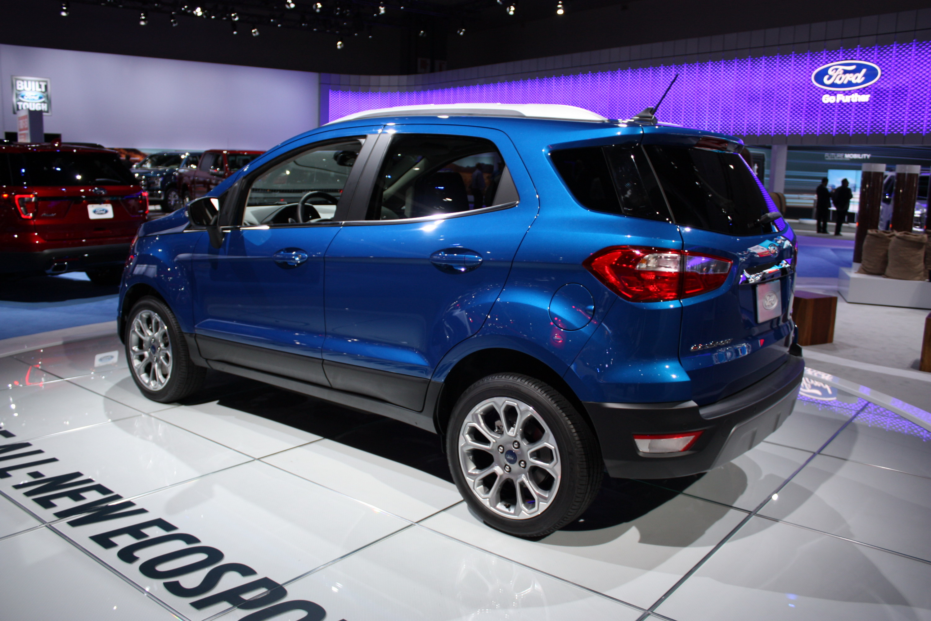 2018 ford ecosport top speed
