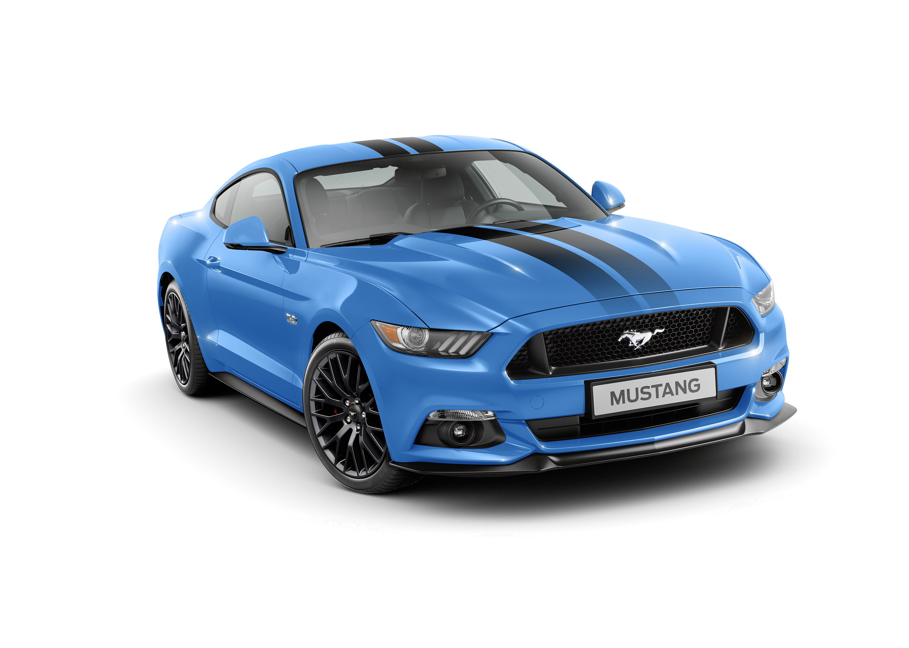2017 ford mustang blue edition top speed