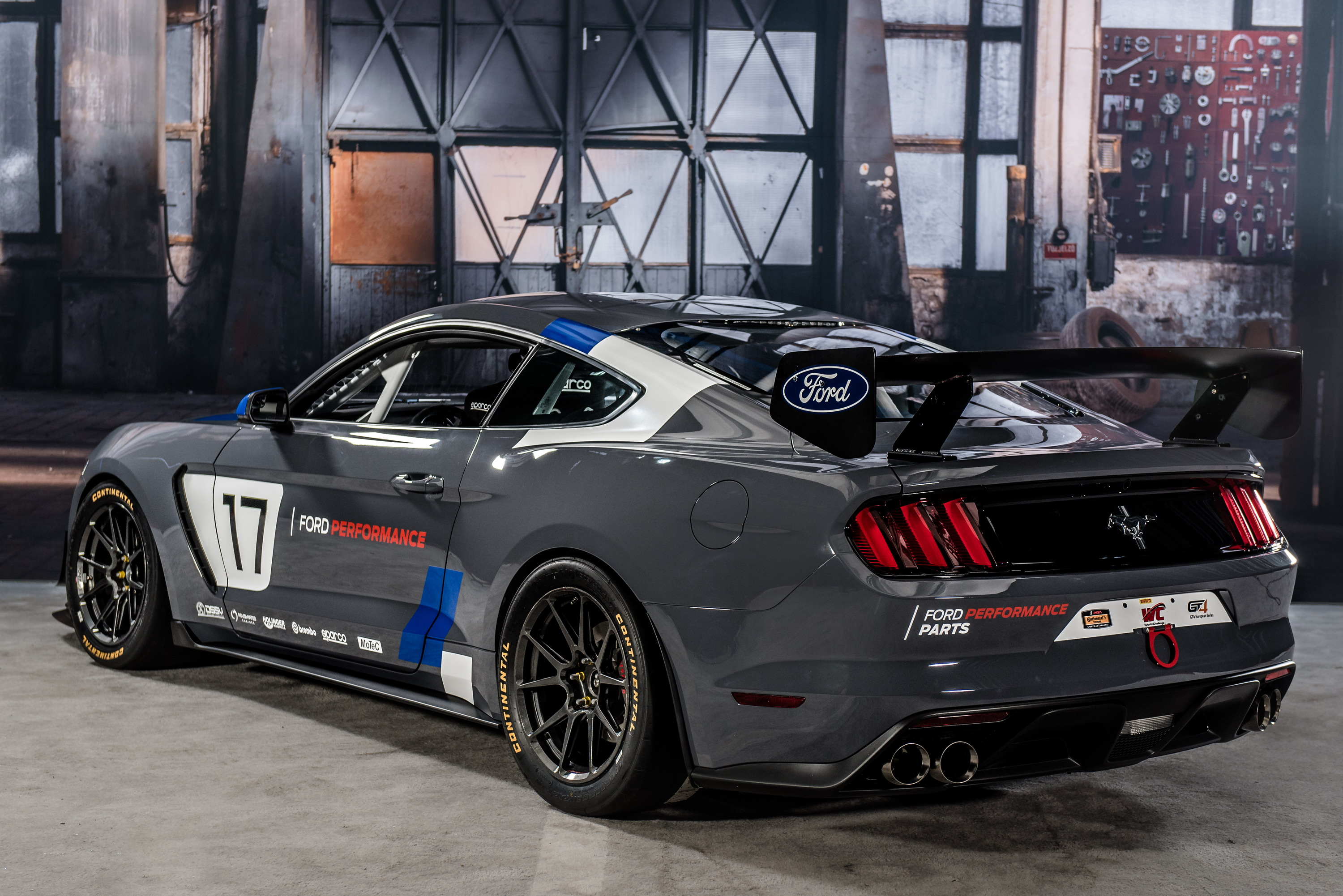2017 ford mustang gt4 top speed