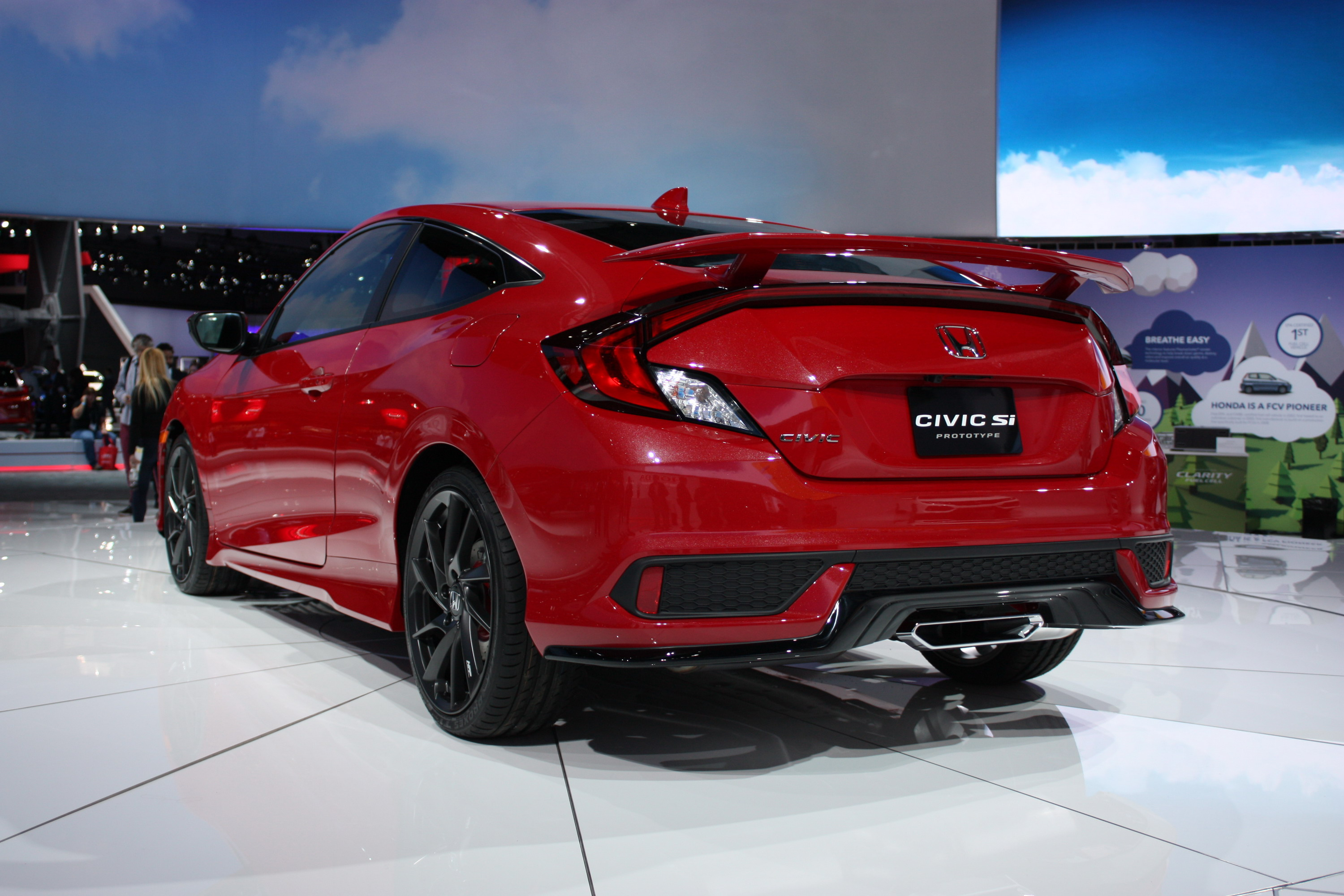 2017 honda civic si review top speed