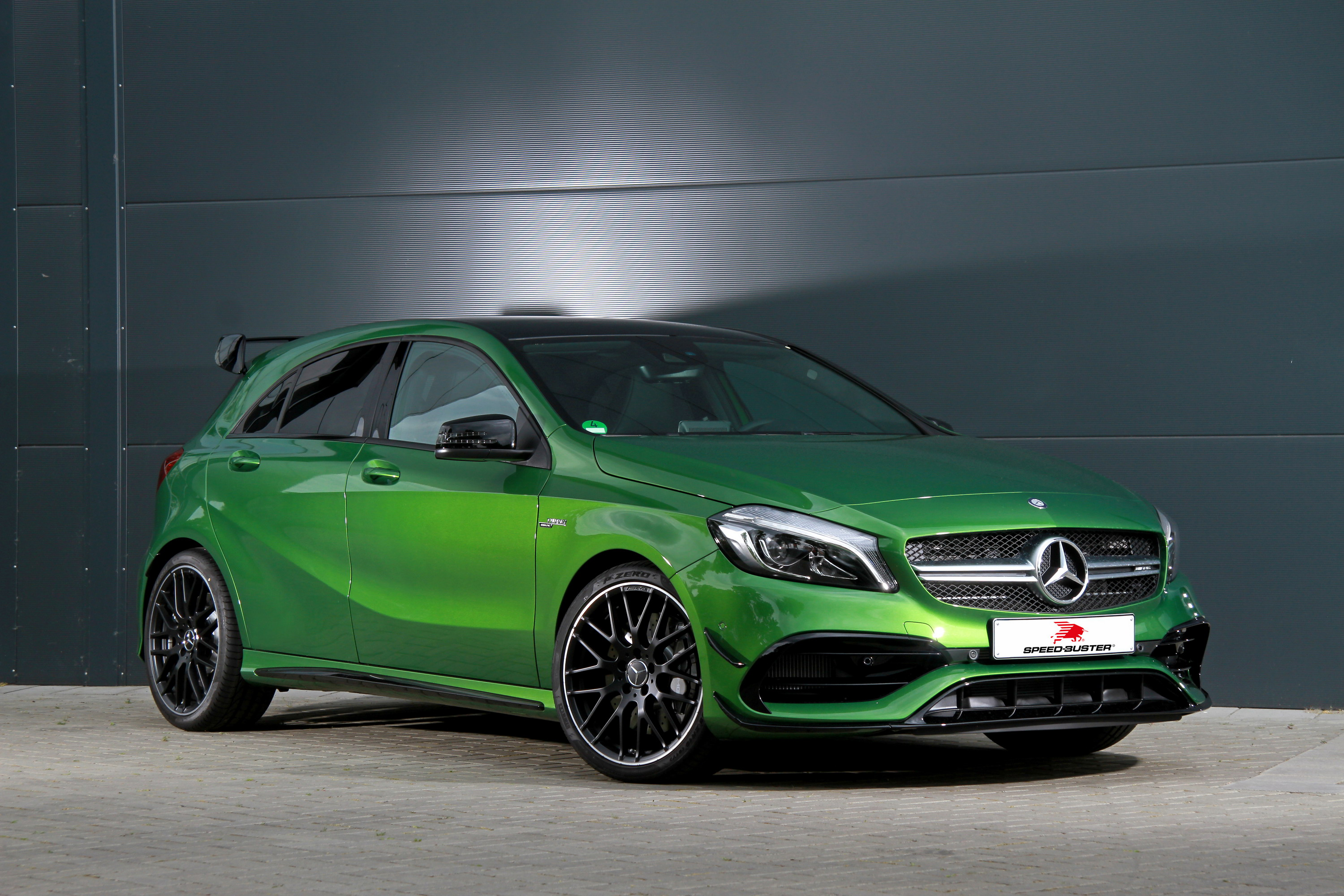 2016 Mercedes Amg A45 By Speed Buster Top Speed