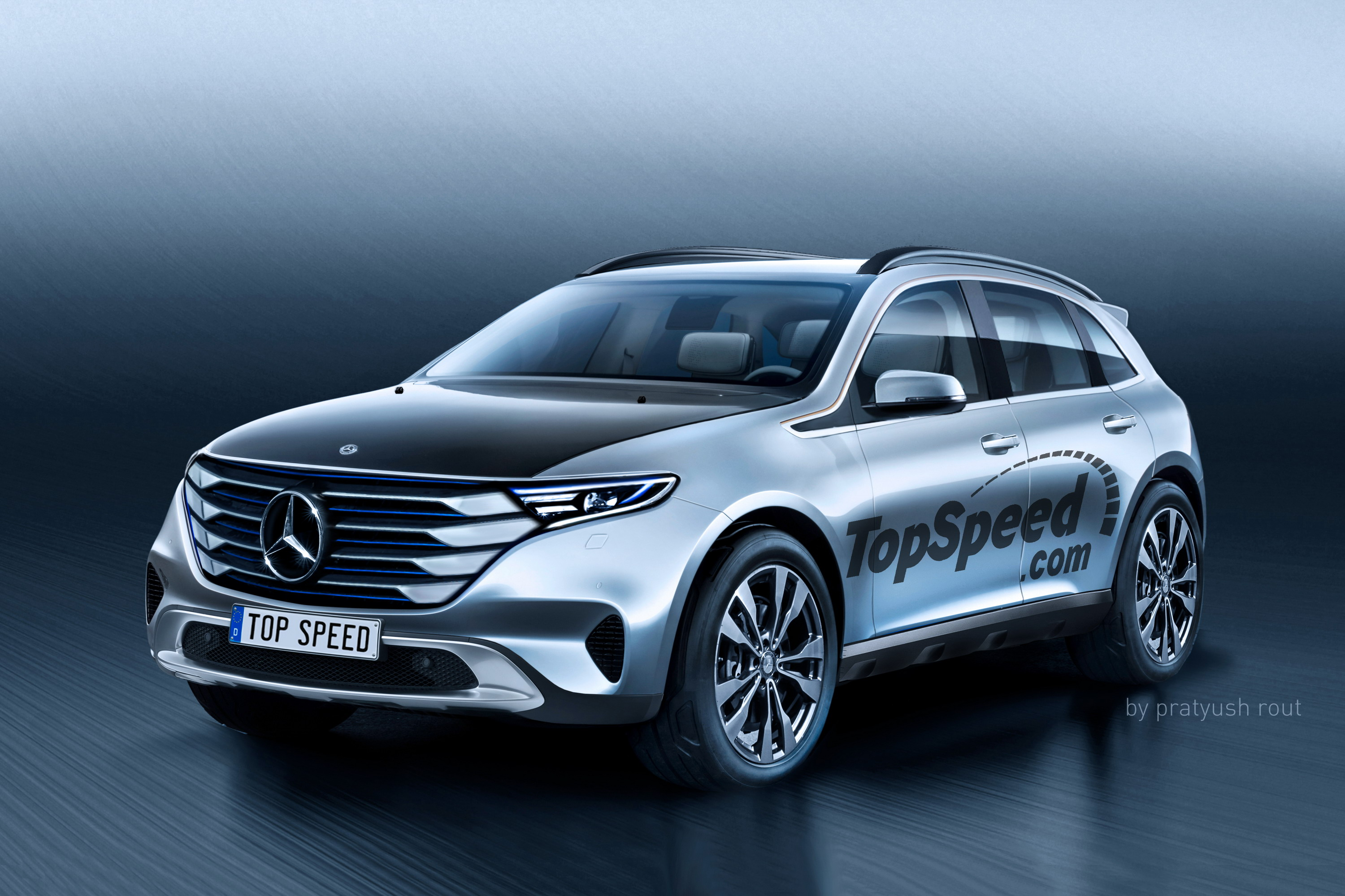 2020 Mercedes-Benz All-Electric SUV | Top Speed