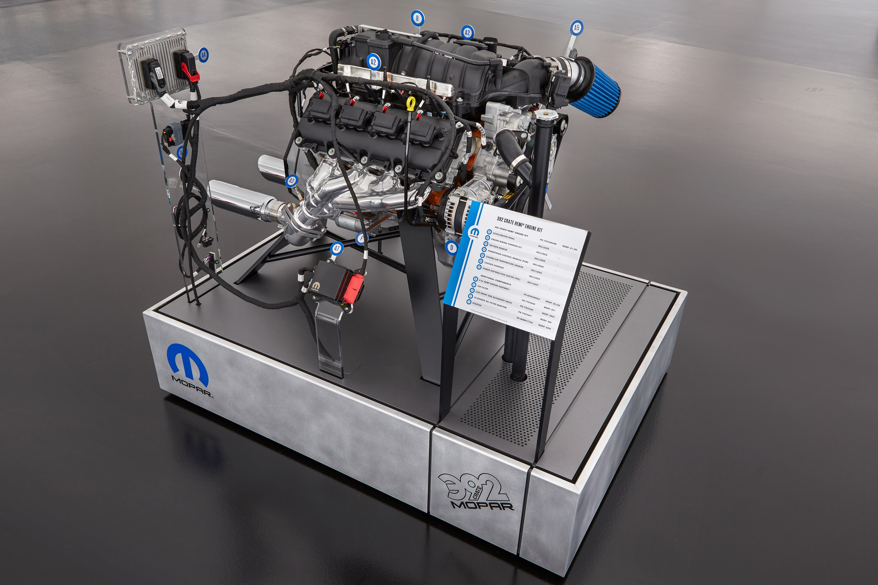 Mopar Launches New Crate Hemi Engine Kits At Sema Top Speed 472 Cadillac Diagram