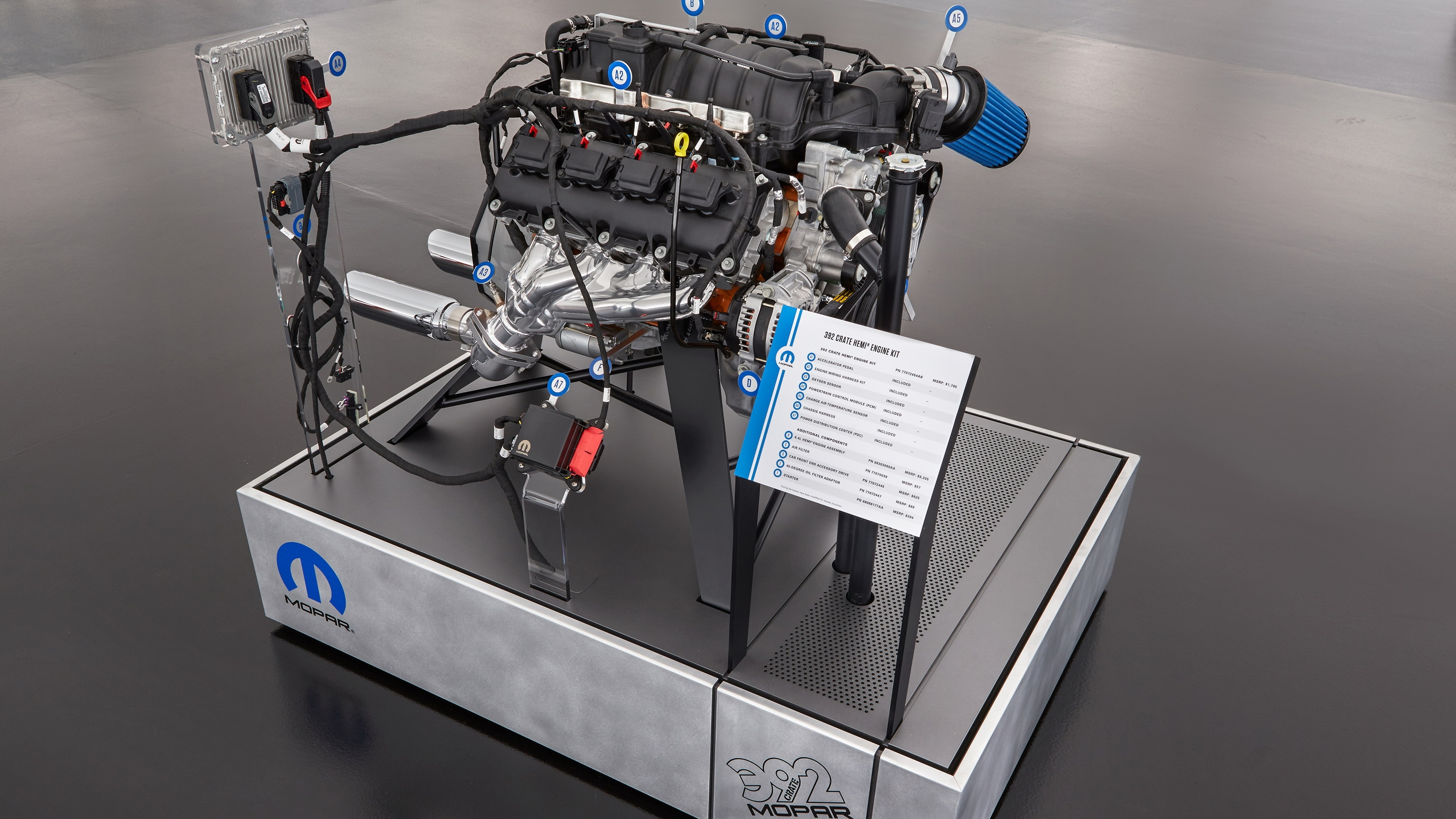 Mopar Launches New Crate Hemi Engine Kits At Sema Top Speed 472 Cadillac Wiring Diagram