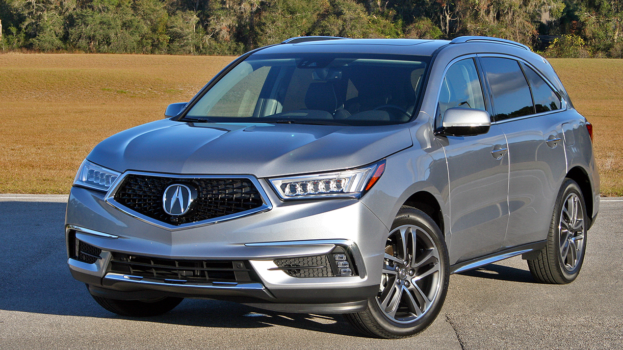 2017 acura mdx driven review top speed. Black Bedroom Furniture Sets. Home Design Ideas