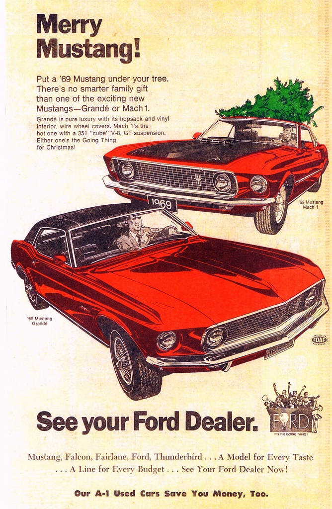 Celebrate Christmas With These Cool, Vintage Car Ads News - Top Speed
