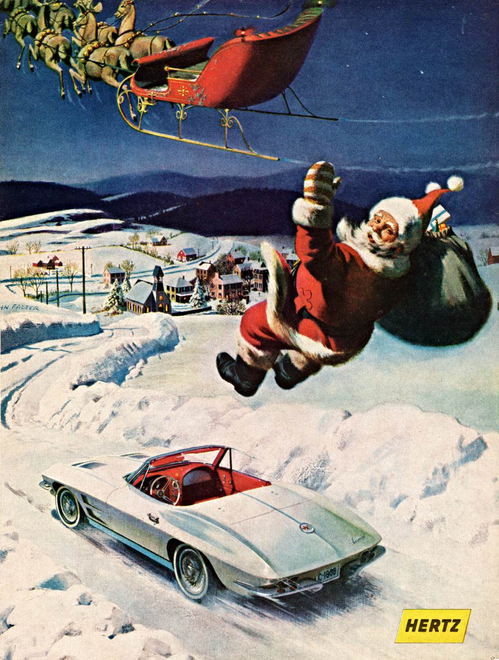 Celebrate Christmas With These Cool, Vintage Car Ads | Top Speed