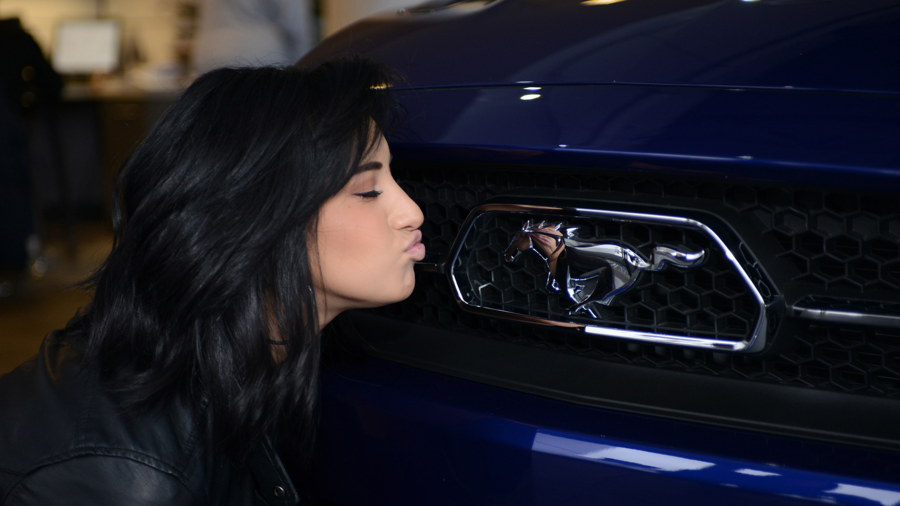 Guess what your ford mustang is a girl car