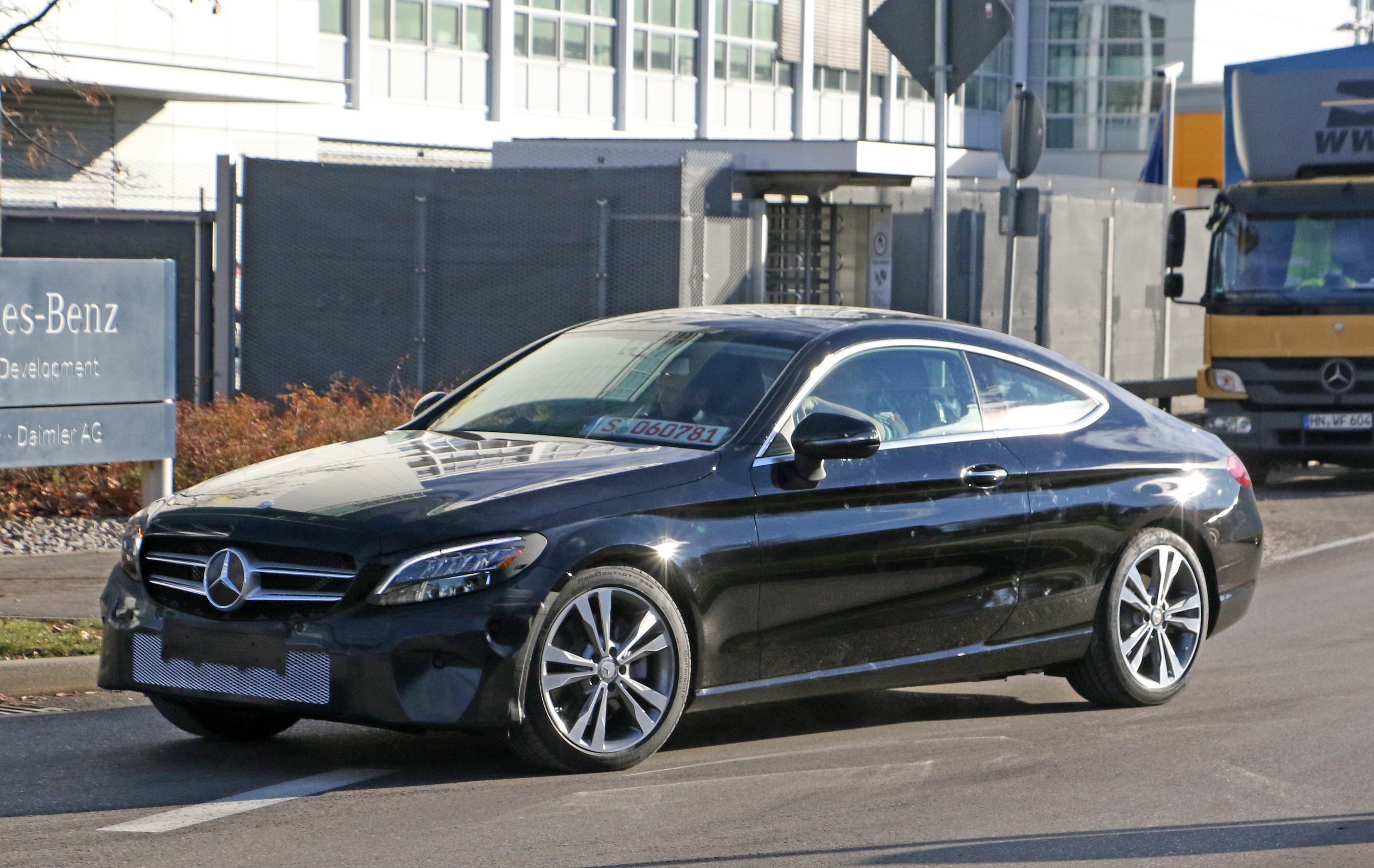 2018 Mercedes Benz C Class Coupe Top Speed