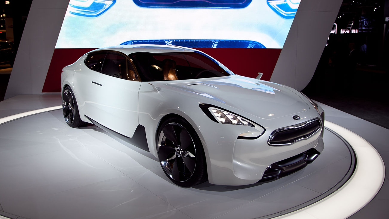 2011 Kia GT Concept | Top Speed
