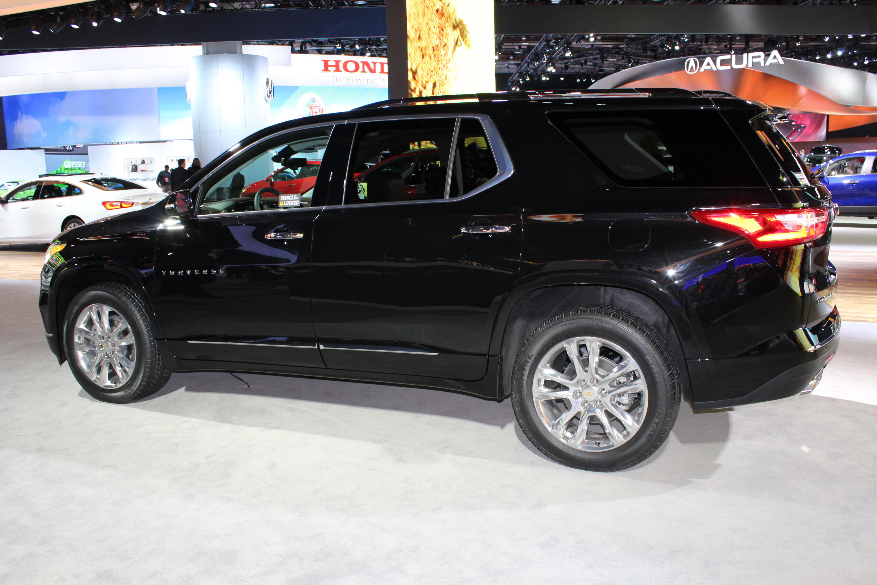2018 Chevy Traverse >> 2018 Chevrolet Traverse Review - Top Speed