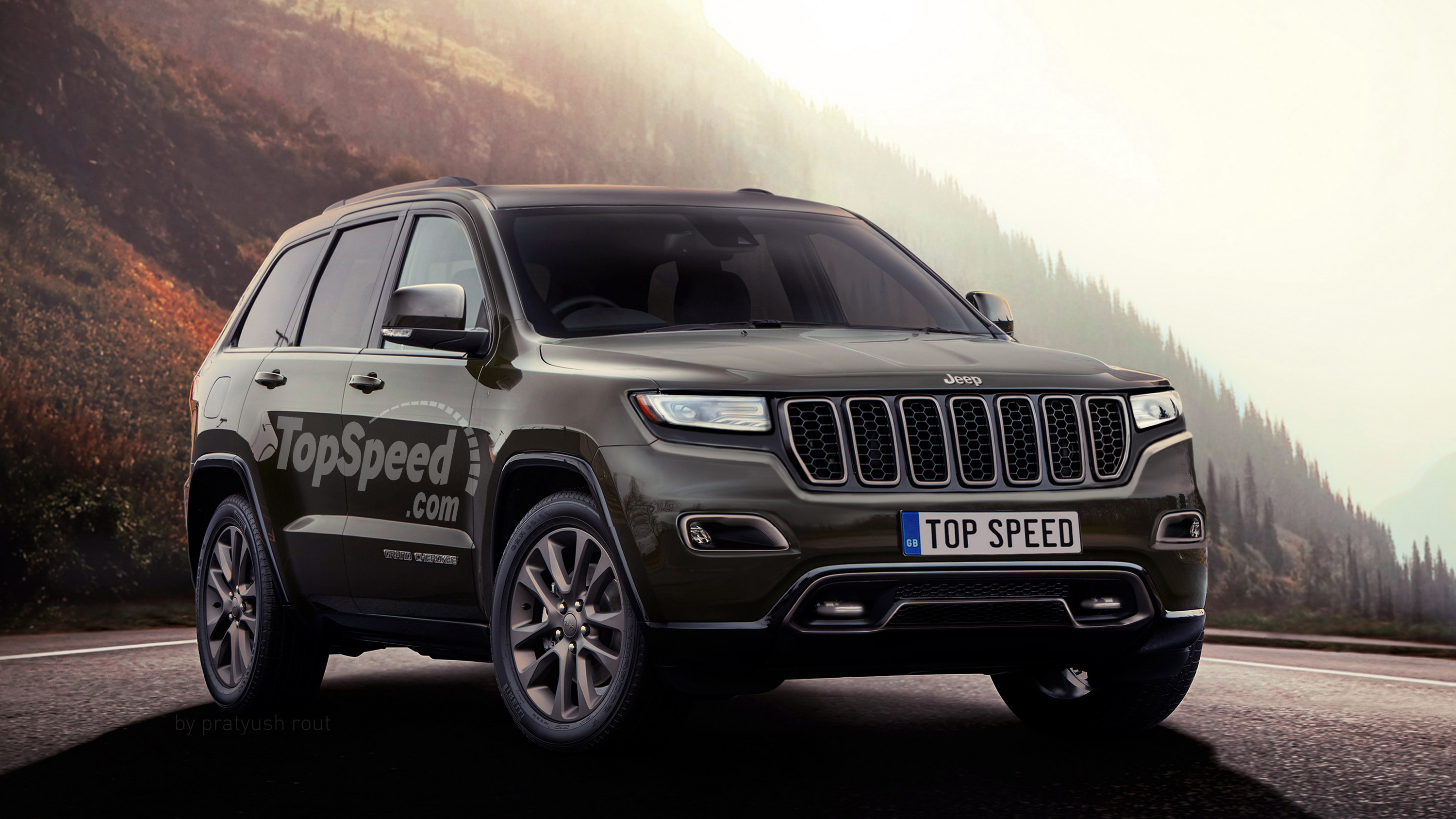 2018 Jeep Grand Wagoneer >> 2018 Jeep Grand Cherokee Pictures Photos Wallpapers Top