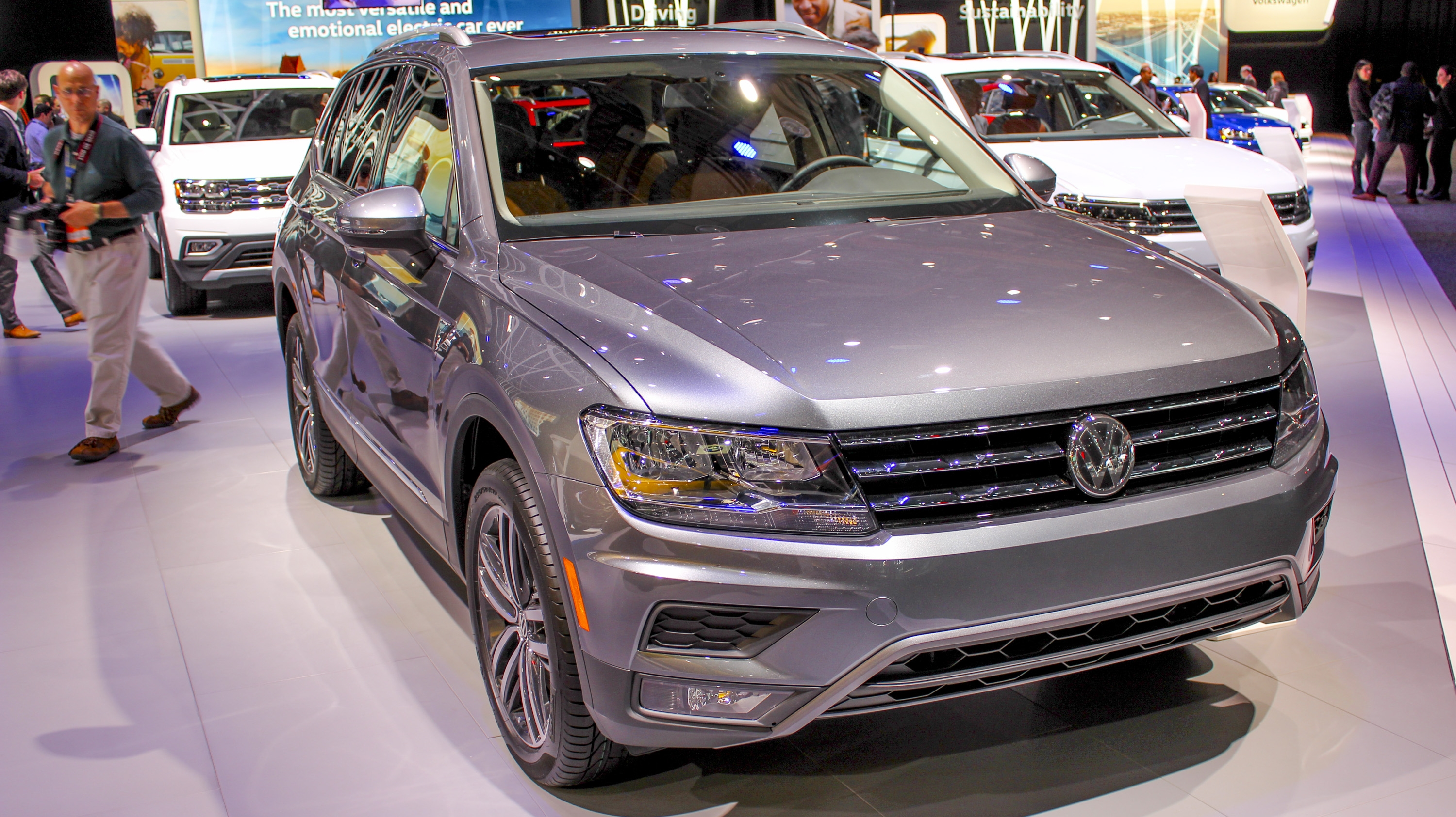 2018 Volkswagen Tiguan Allspace Pictures Photos Wallpapers Top