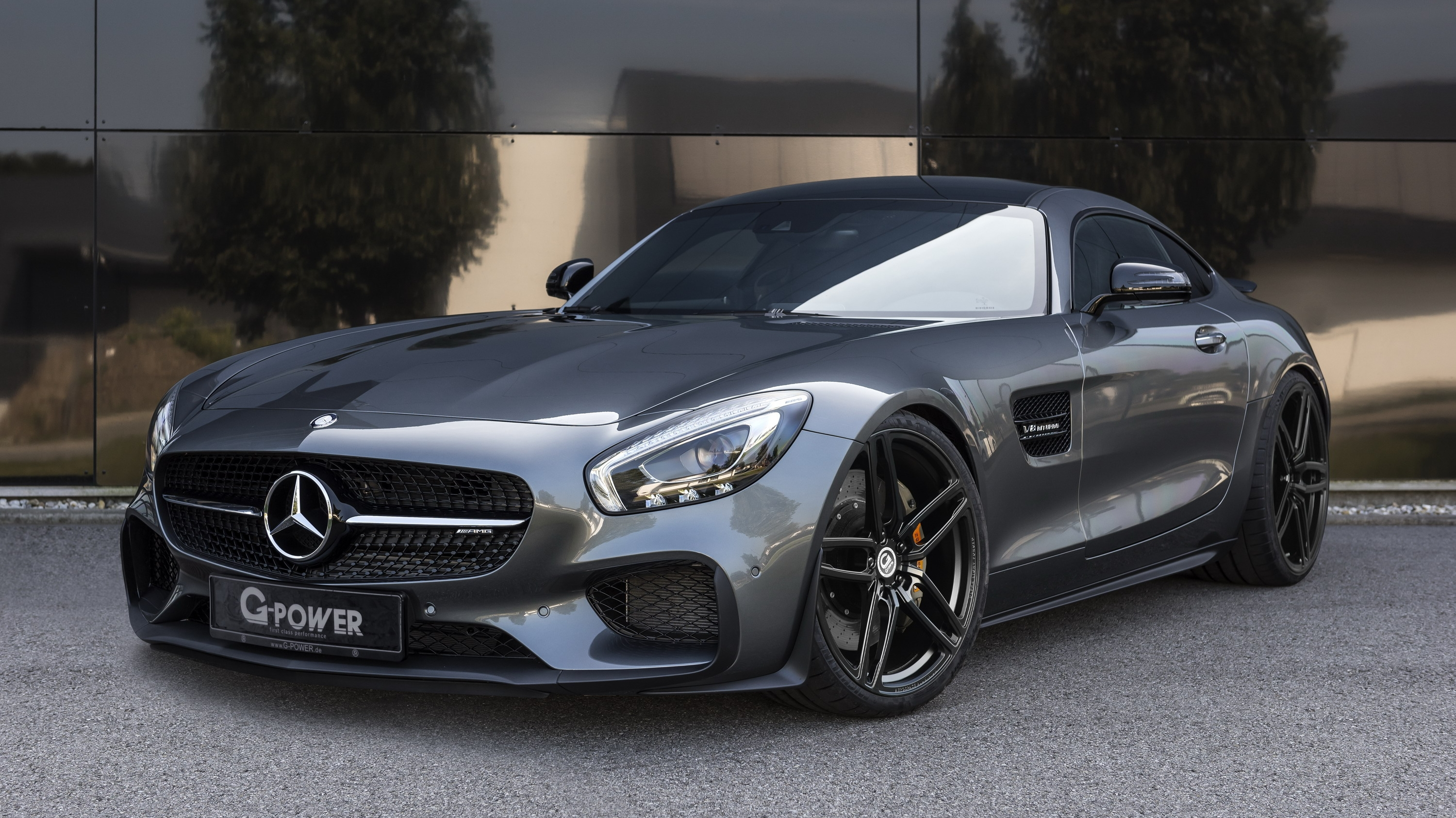 2017 mercedes amg gt by g power top speed. Black Bedroom Furniture Sets. Home Design Ideas