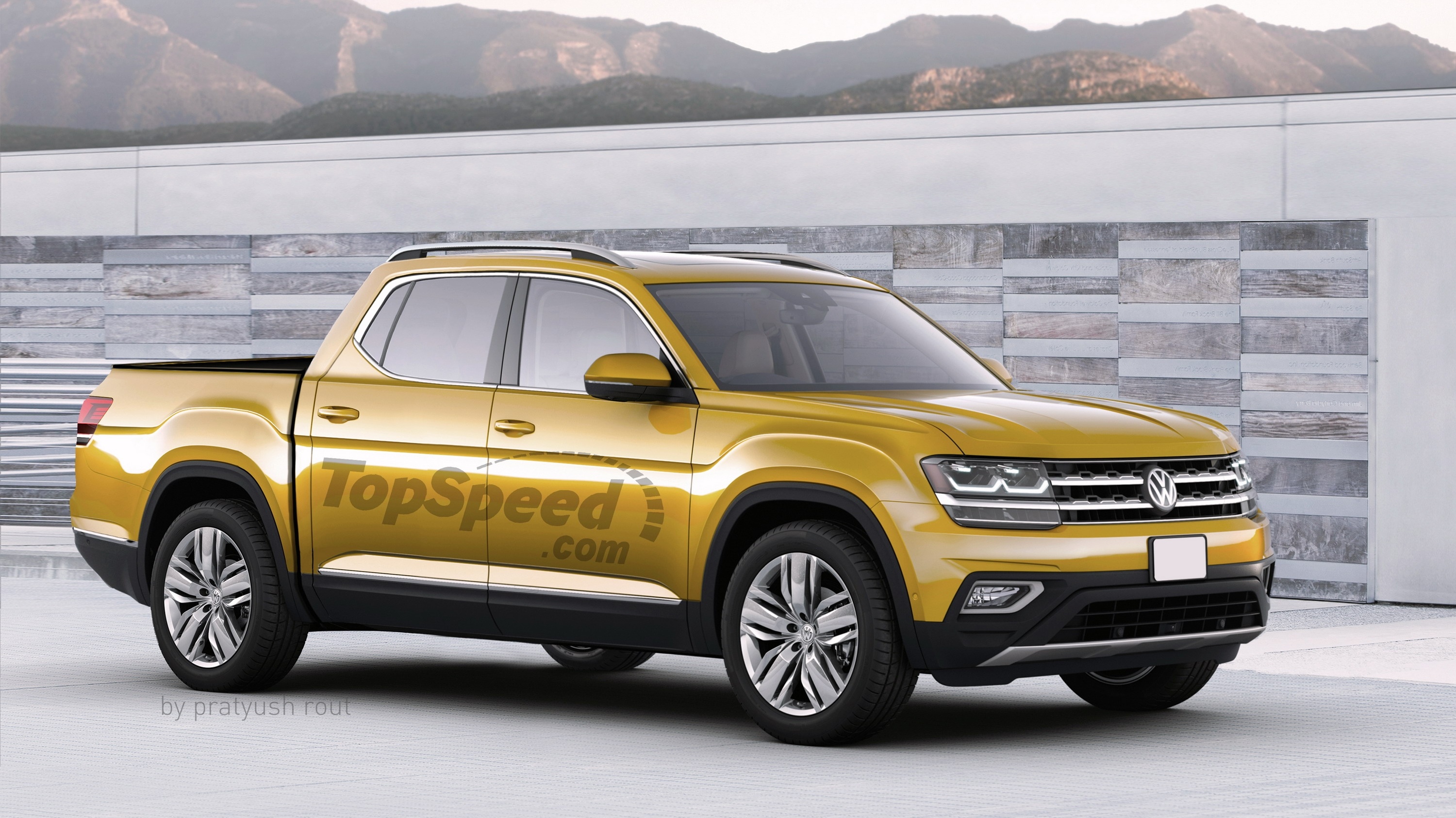 2019 Volkswagen Atlas Pickup Top Speed