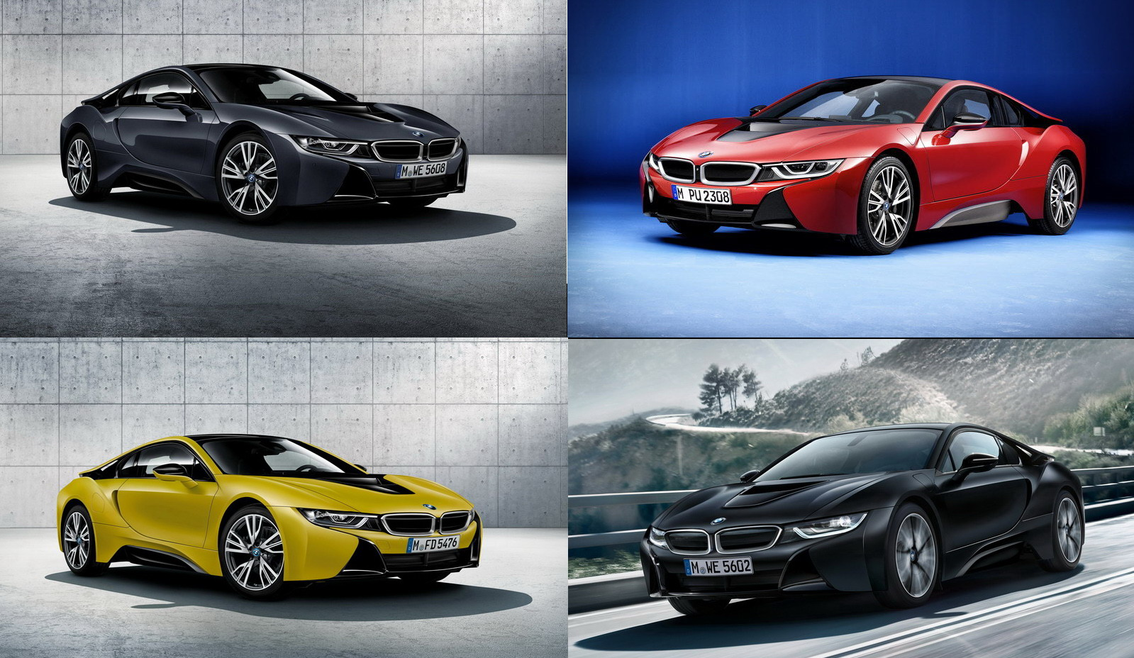 bmw i8 series protonic ridiculous nuts driving speed