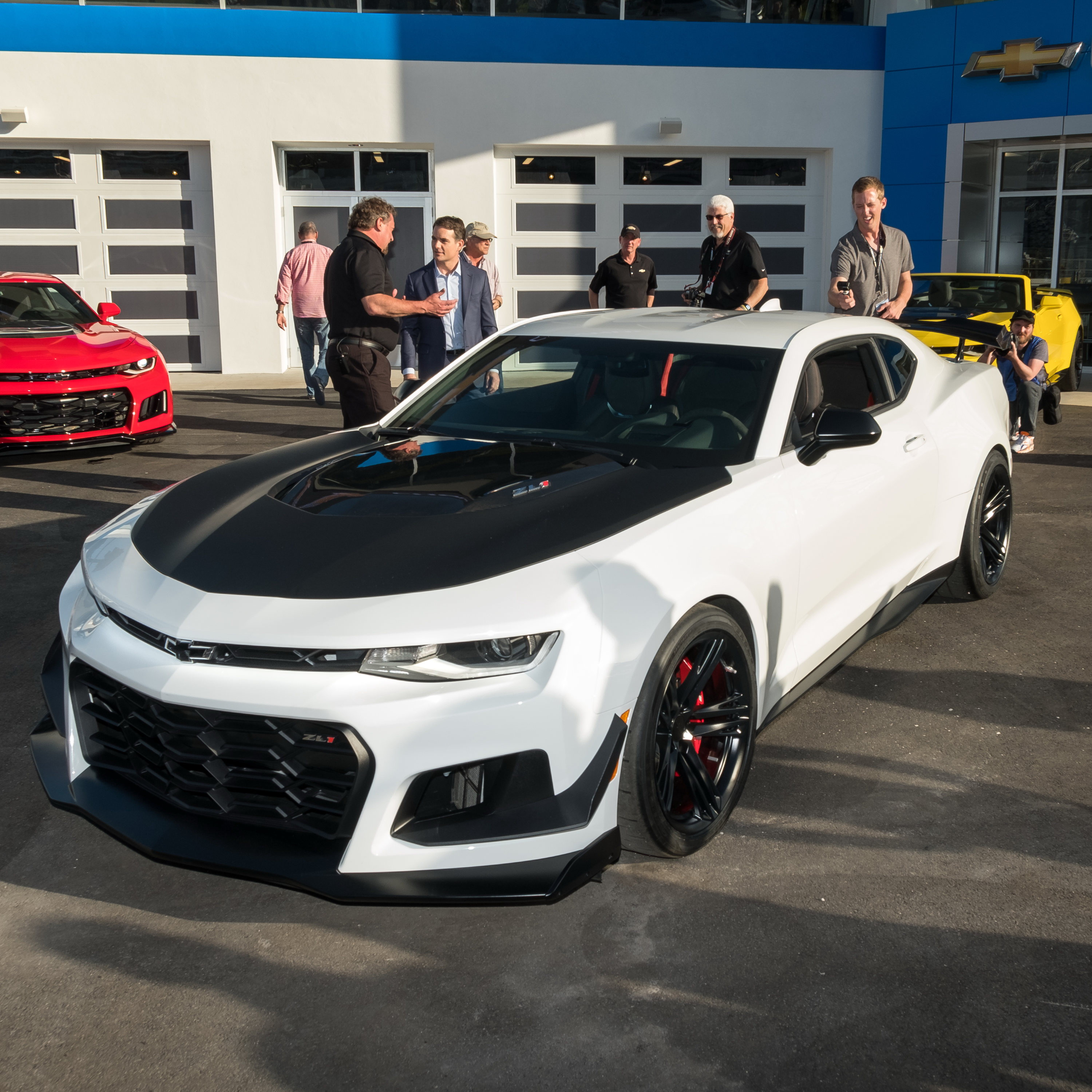 2018 Chevrolet Camaro Zl1 1le Gallery 706873 Top Speed
