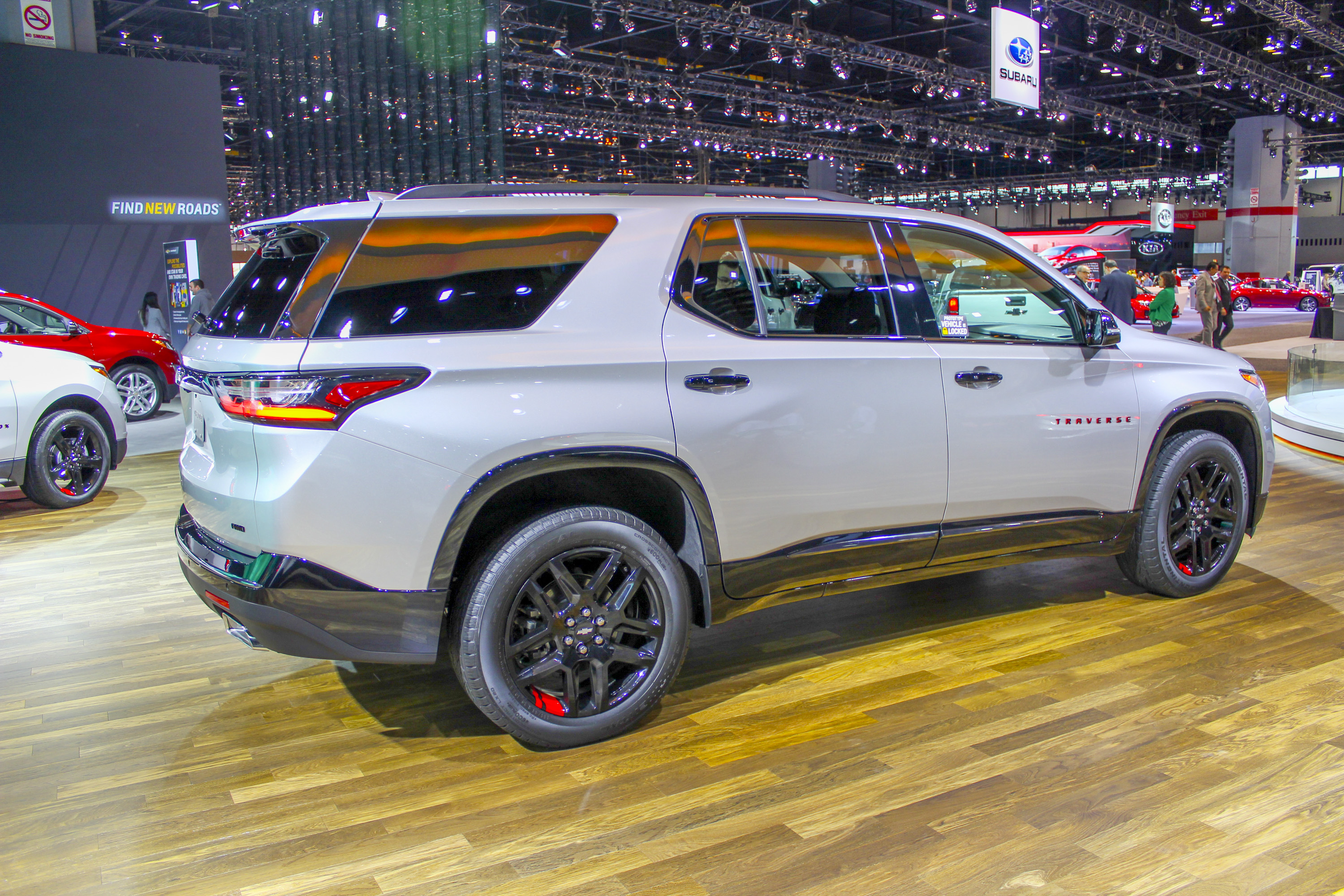 2018 chevrolet traverse redline.  2018 unveiled for the 2018 model year secondgeneration chevrolet traverse  is as fresh it gets in 2017 built around new c1xx platform  for chevrolet traverse redline