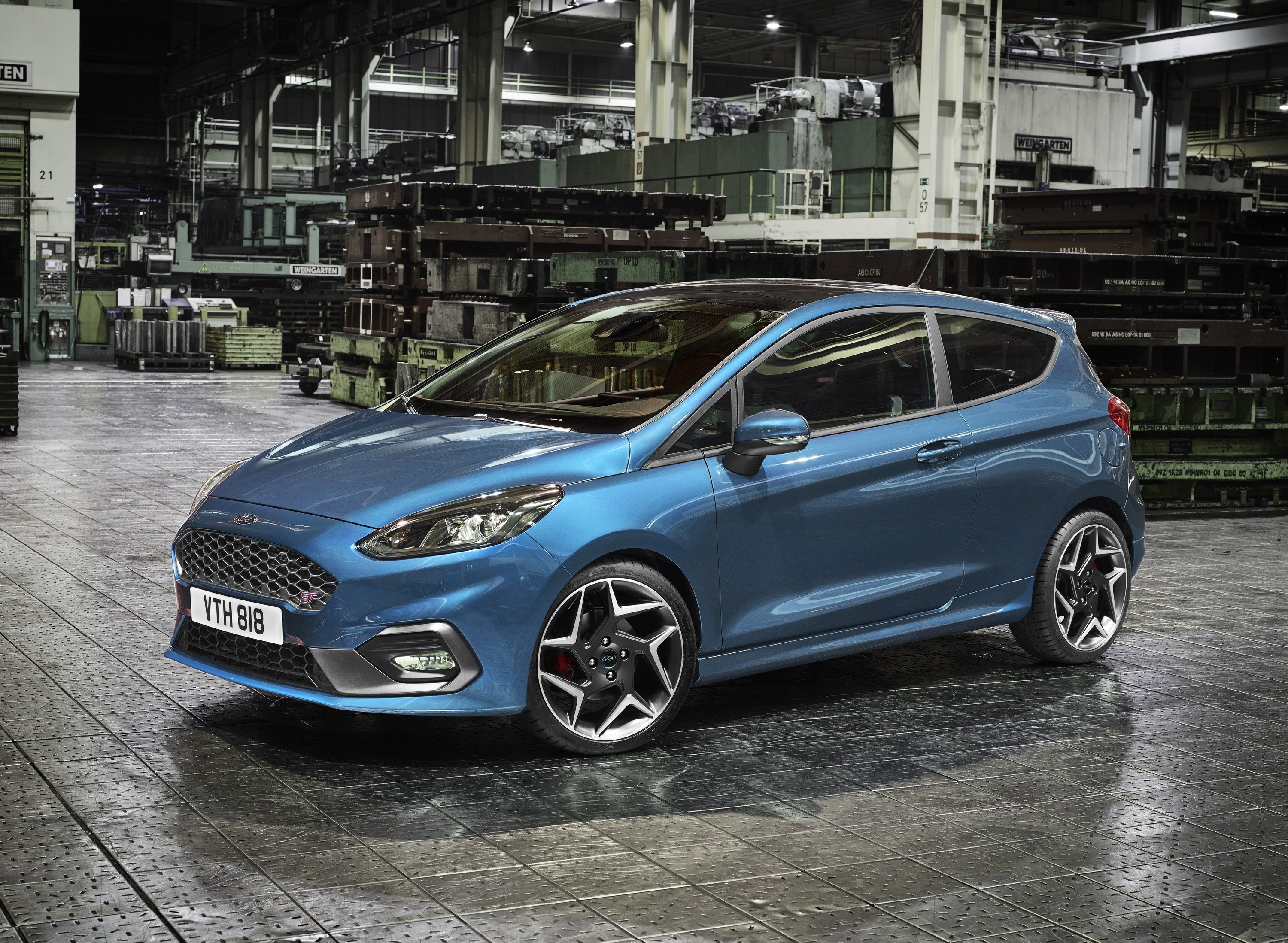 2018 ford fiesta st top speed