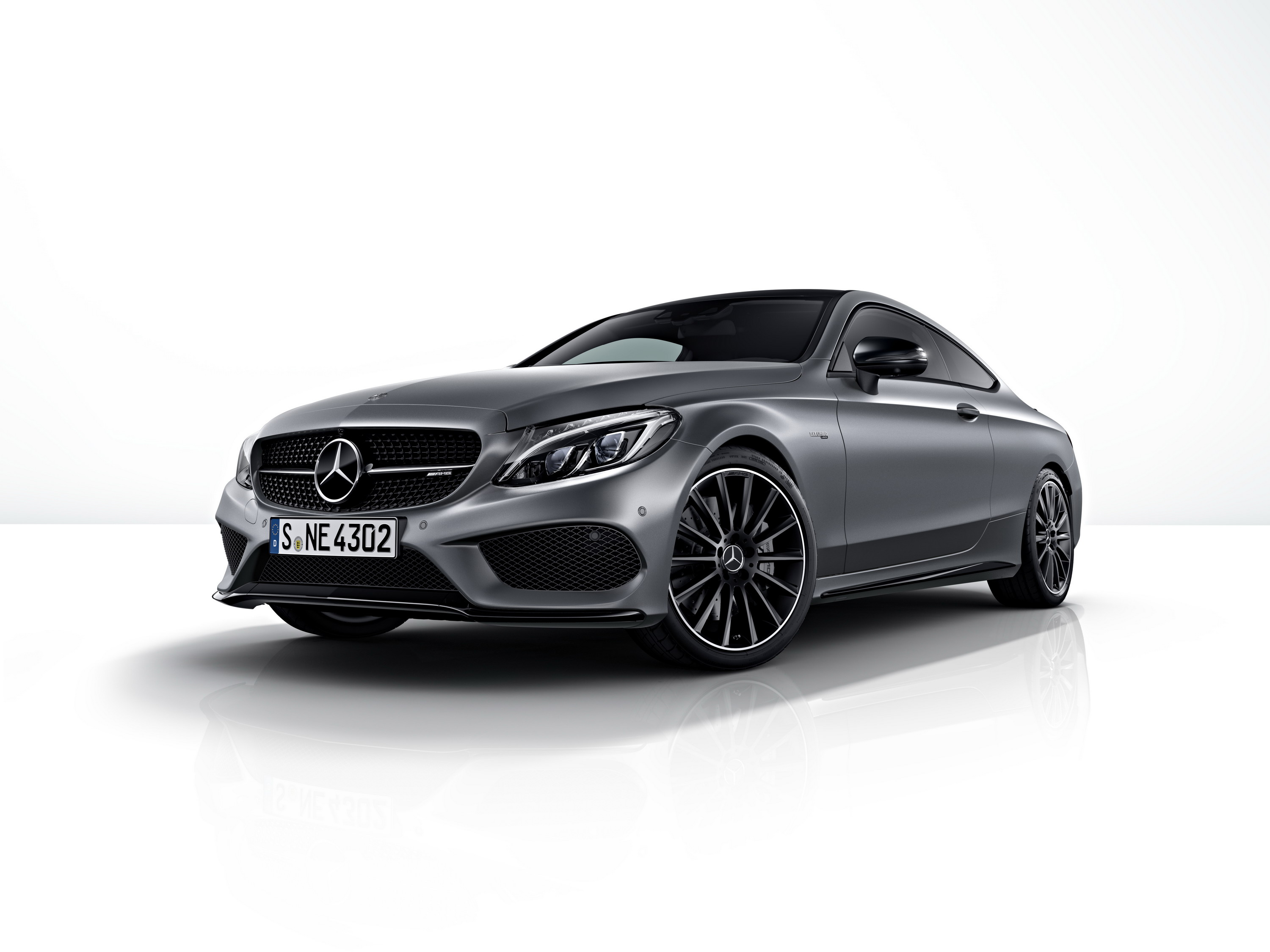2017 Mercedes-AMG C 43 4MATIC Coupé And Cabriolet Night Edition ...