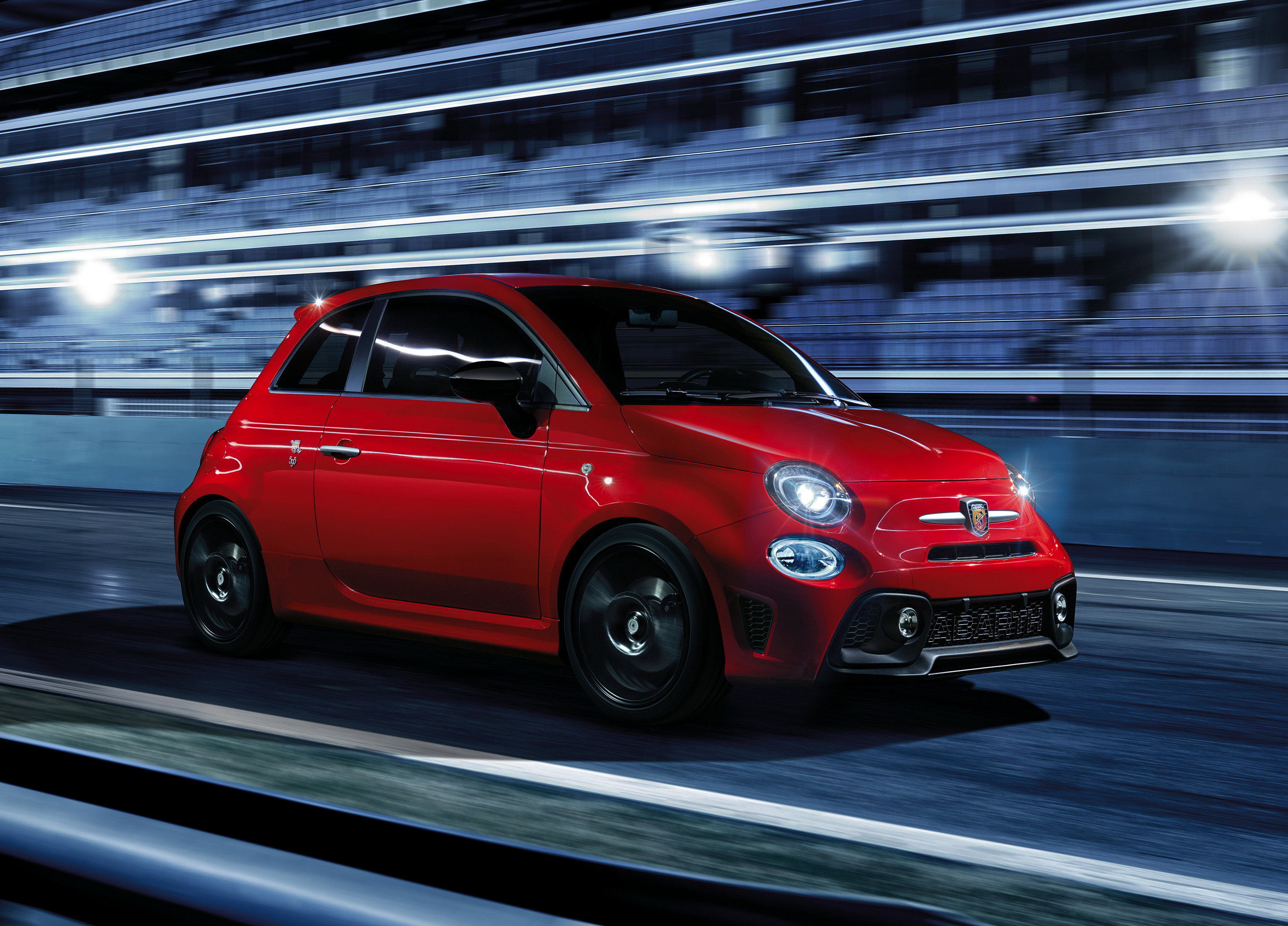 2017 Abarth 595 Pista | Top Speed. »