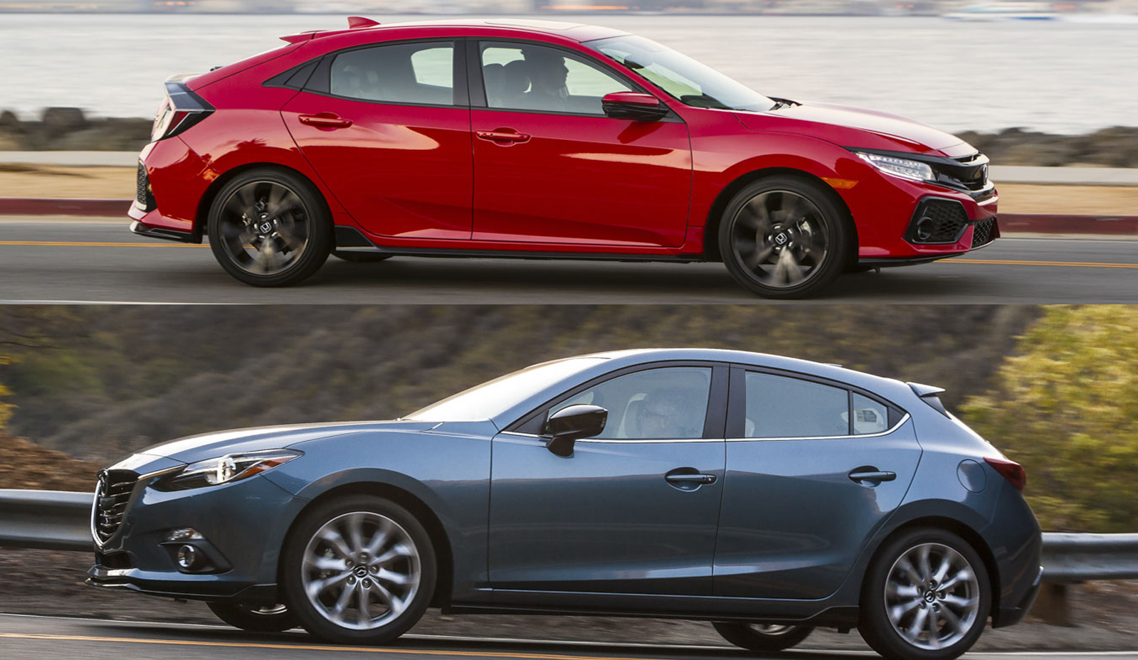 Buyer's Guide: Mazda 3 Vs Honda Civic Hatchback | Top Speed. »