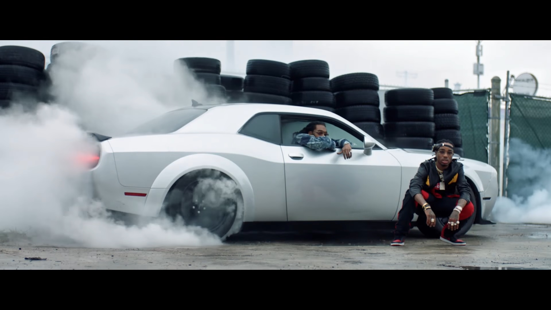 dodge challenger demon shows up in the fate of the furious music video top speed. Black Bedroom Furniture Sets. Home Design Ideas