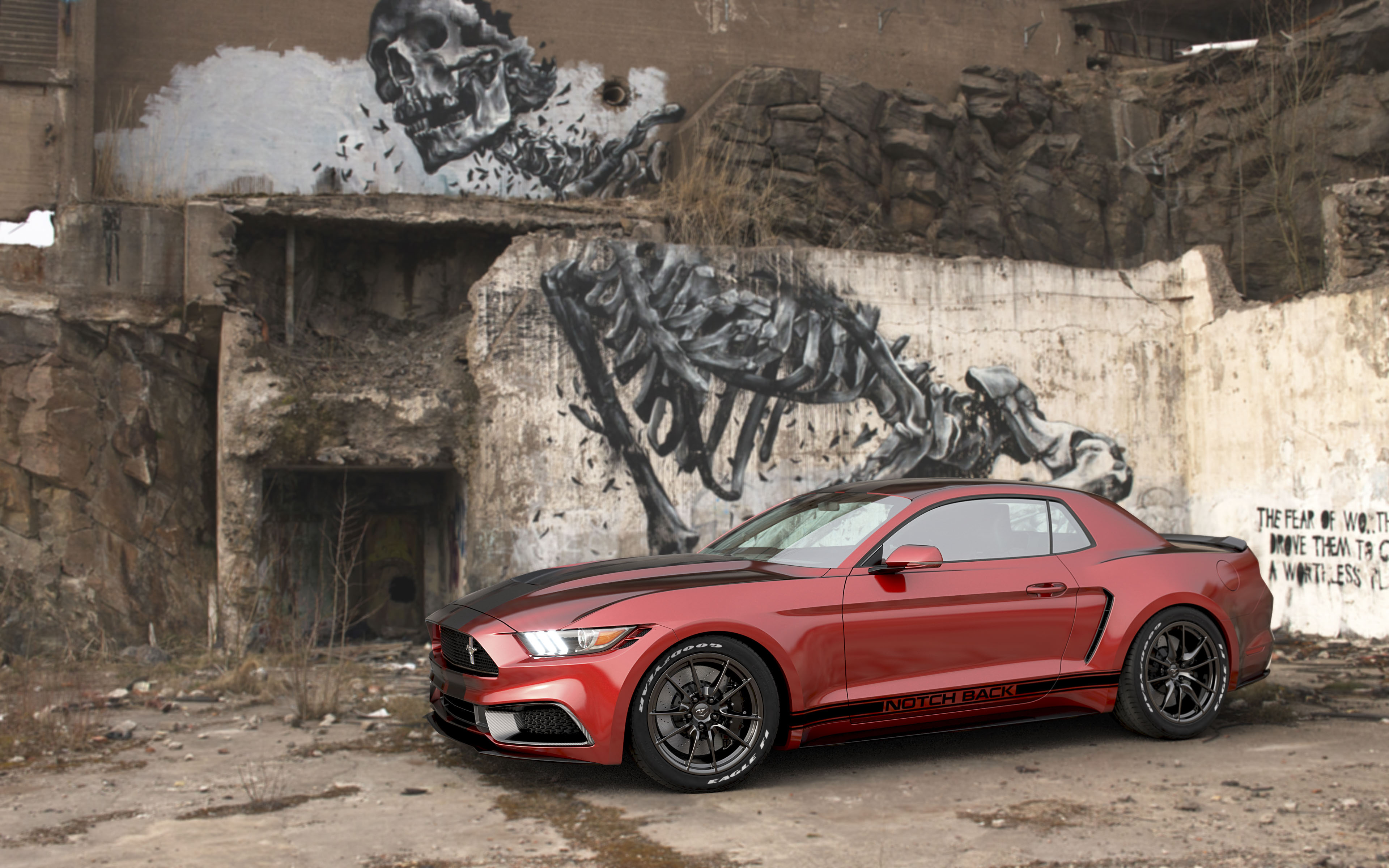 Ford mustang notchback by chris cyrulewski top speed
