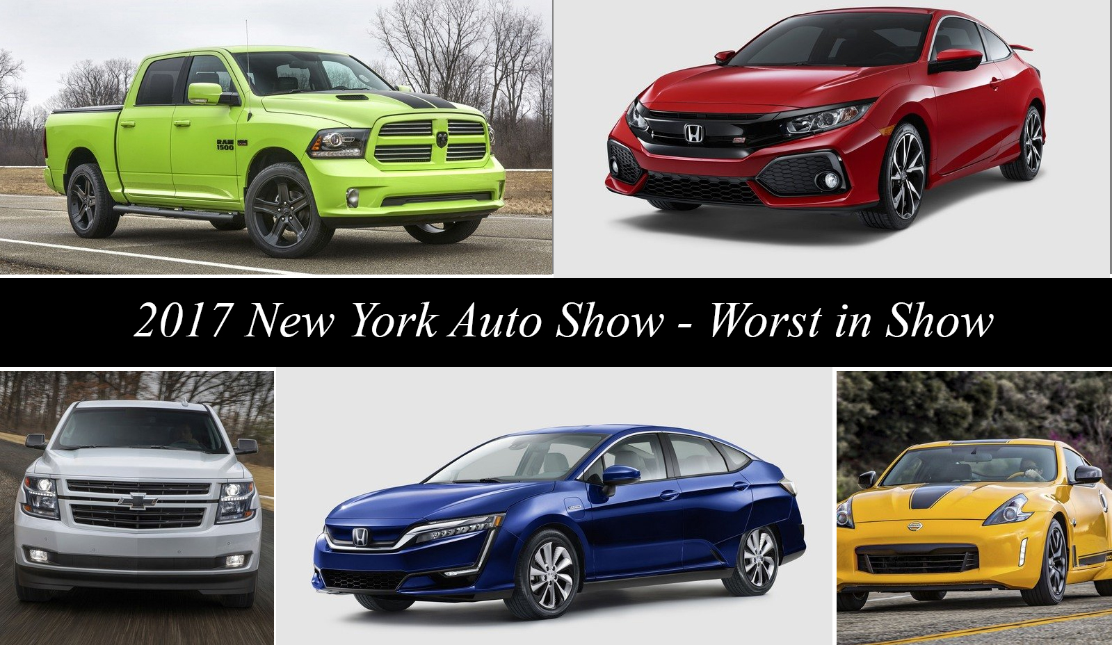 2017 new york international auto show worst in show news top speed. Black Bedroom Furniture Sets. Home Design Ideas