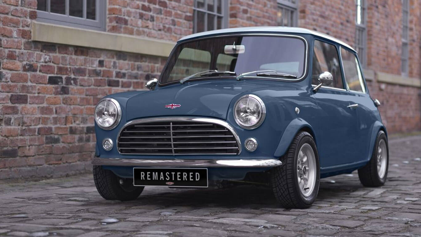 David Brown Revives The Classic Mini Cooper With Modern Tech Top Speed