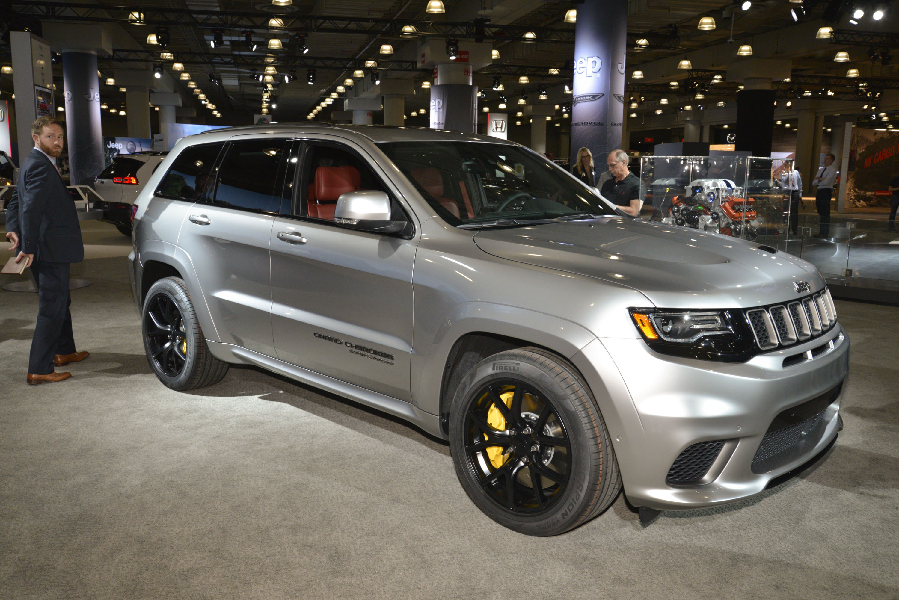 2018 jeep grand cherokee trackhawk review - top speed
