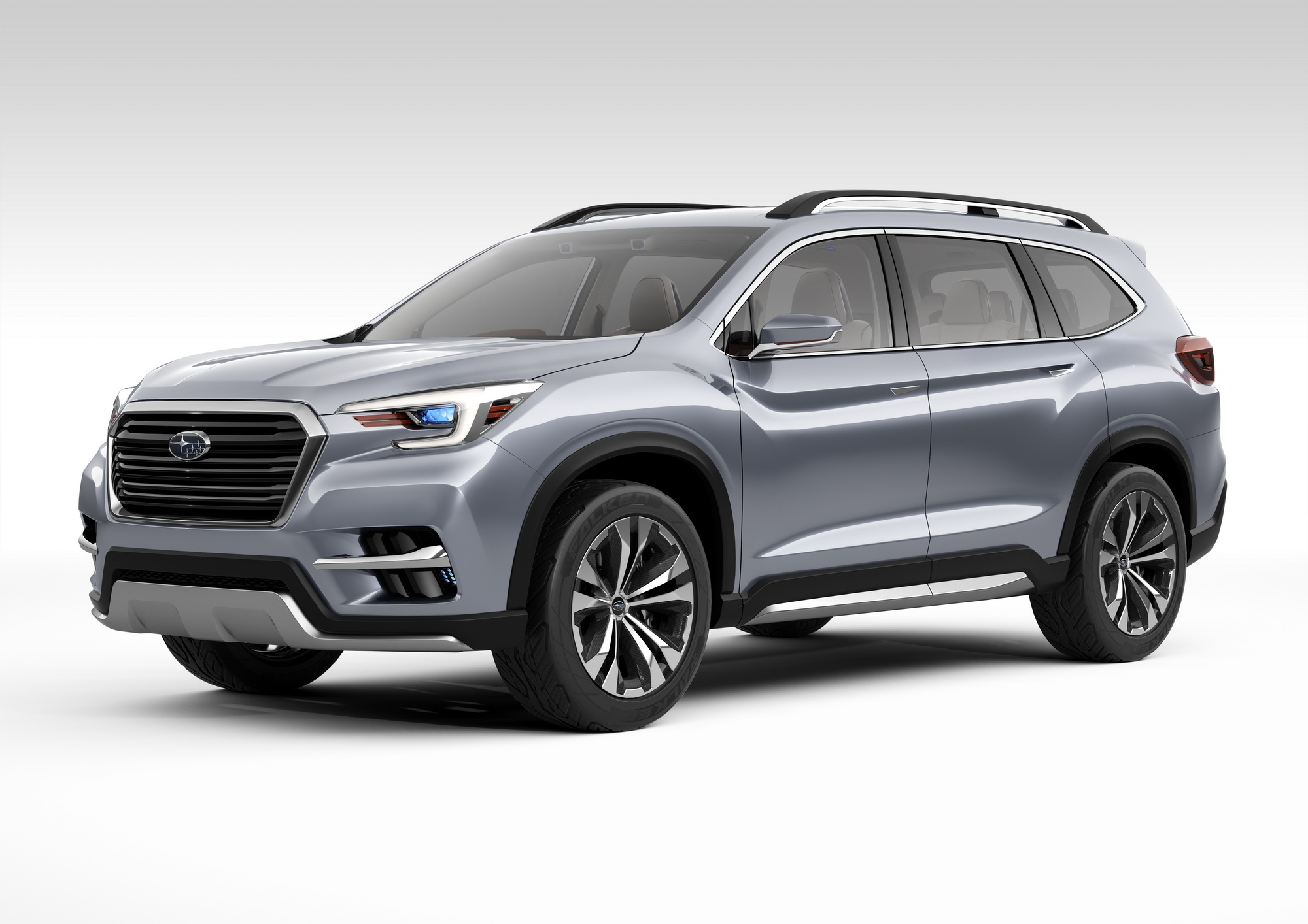 Subaru Ascent Suv Concept Begs One Question Why News Top Speed