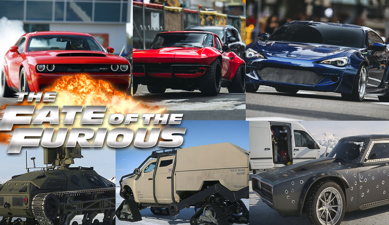 The 8 Great Of Fate The Cars Of The Fate Of The Furious