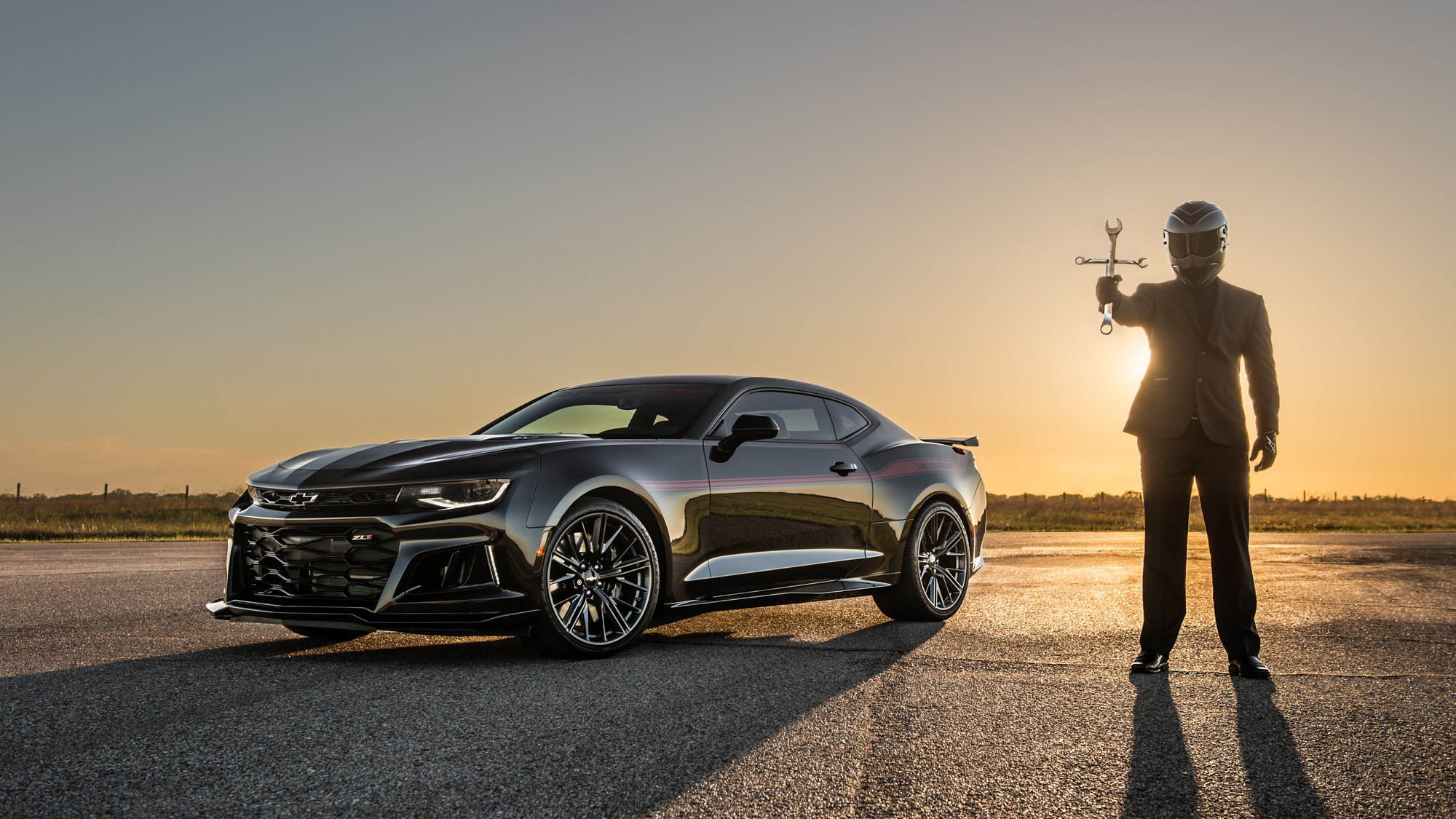 2017 Chevrolet Camaro Zl1 The Exorcist By Hennessey Pictures