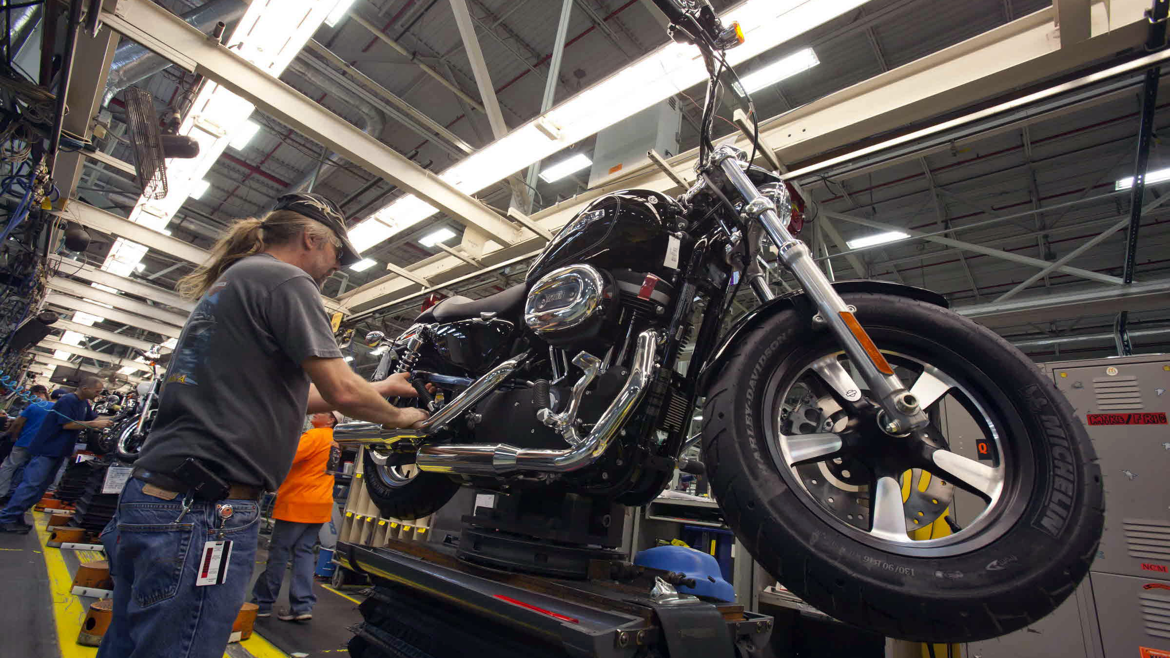Harley Davidson Plans To Build A Manufacturing Plant In