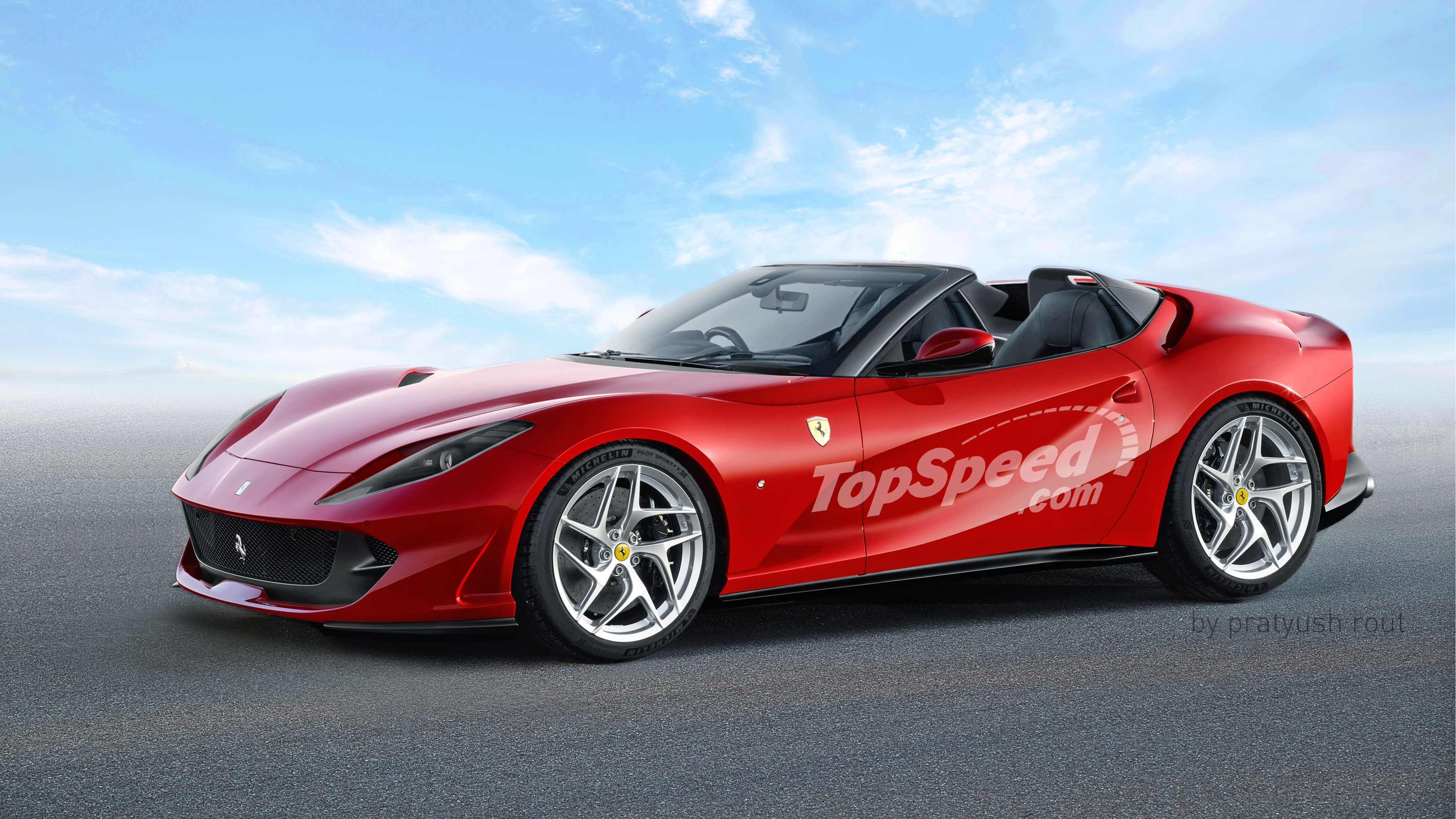 Ferrari F12 Top View >> 2019 Ferrari 812 Aperta Review - Gallery - Top Speed