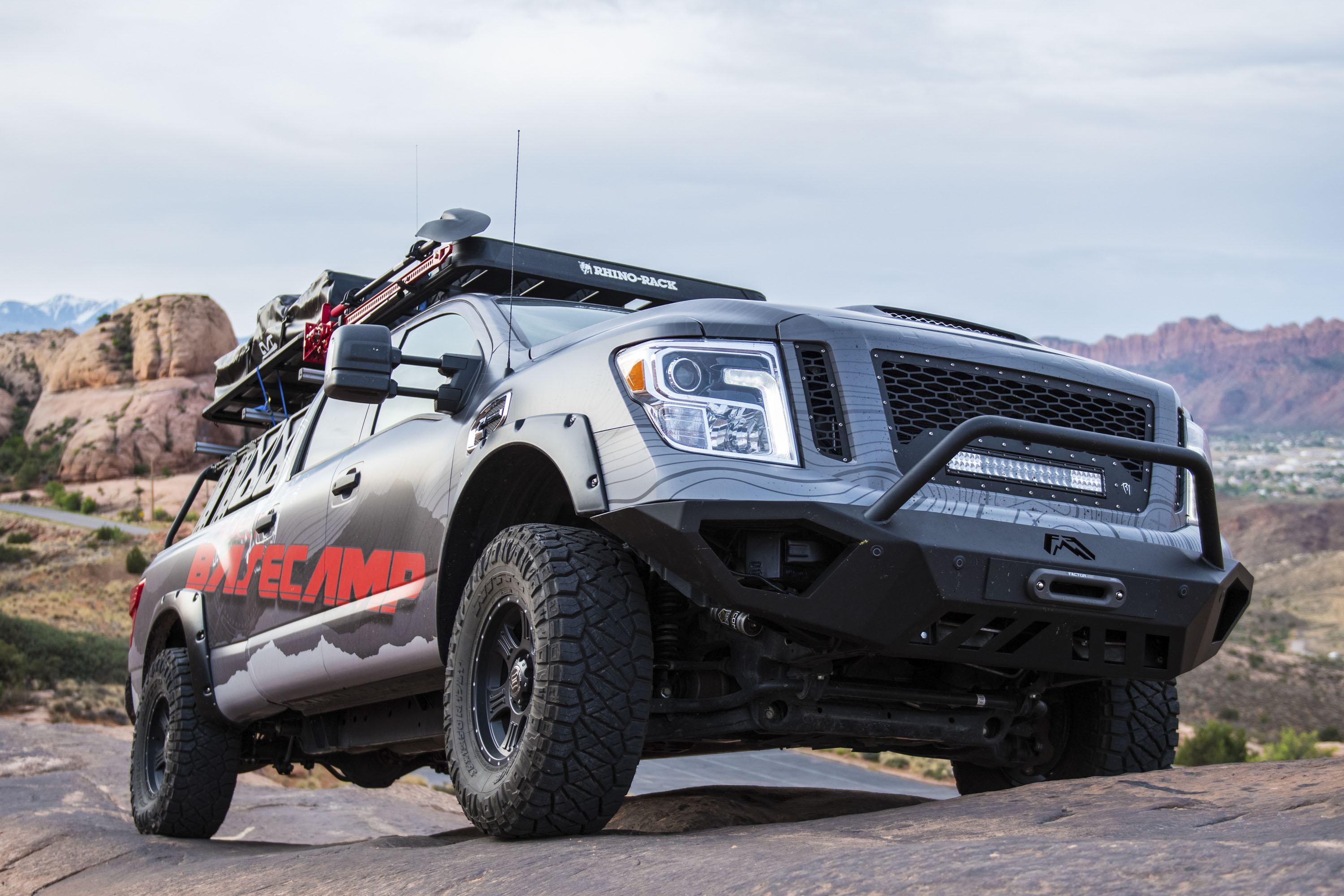 Nissan Titan XD PRO 4X Project Basecamp Review