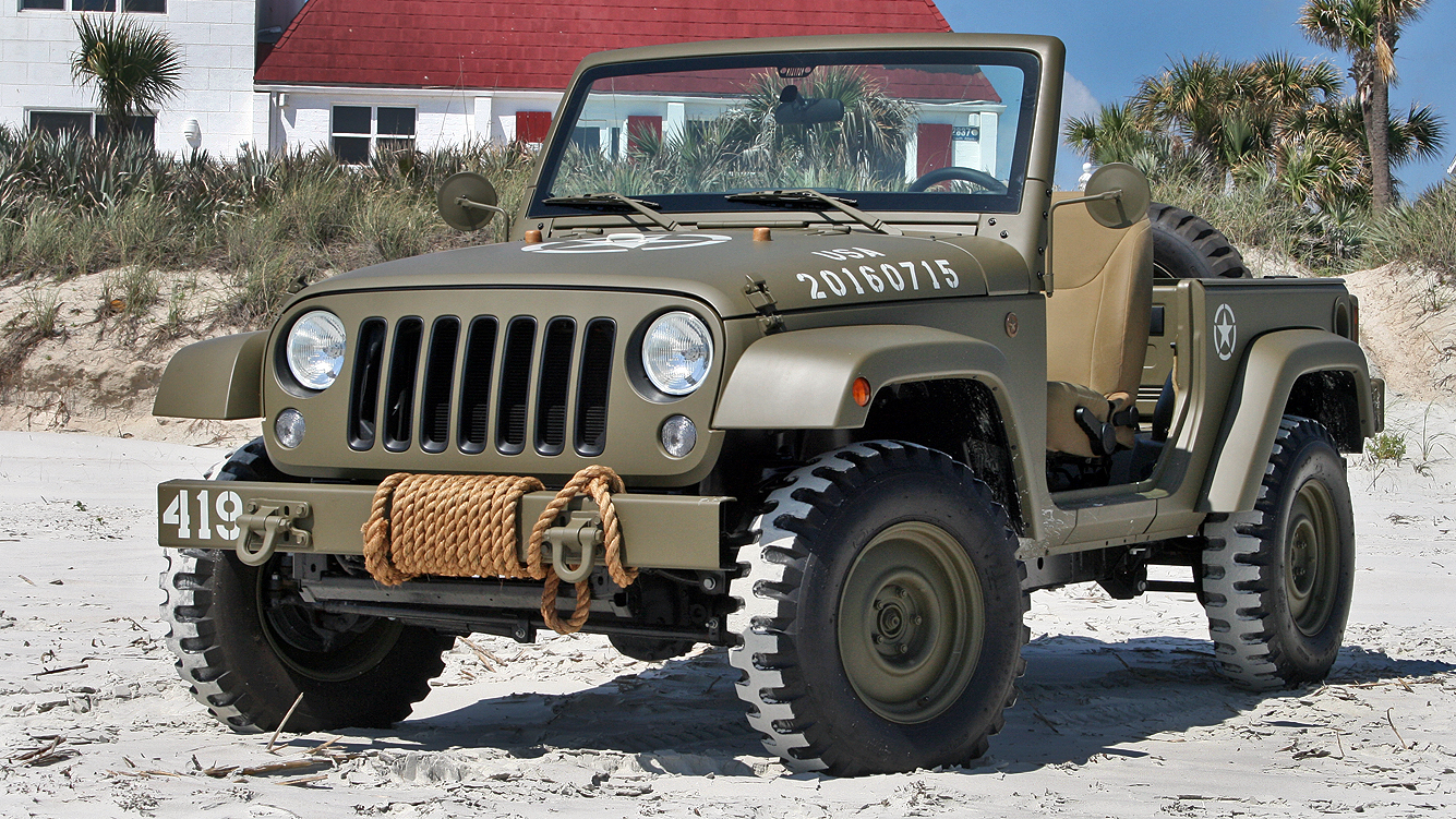Types Of Jeeps >> Quick Drive: Jeep 75th Salute Concept Pictures, Photos, Wallpapers. | Top Speed