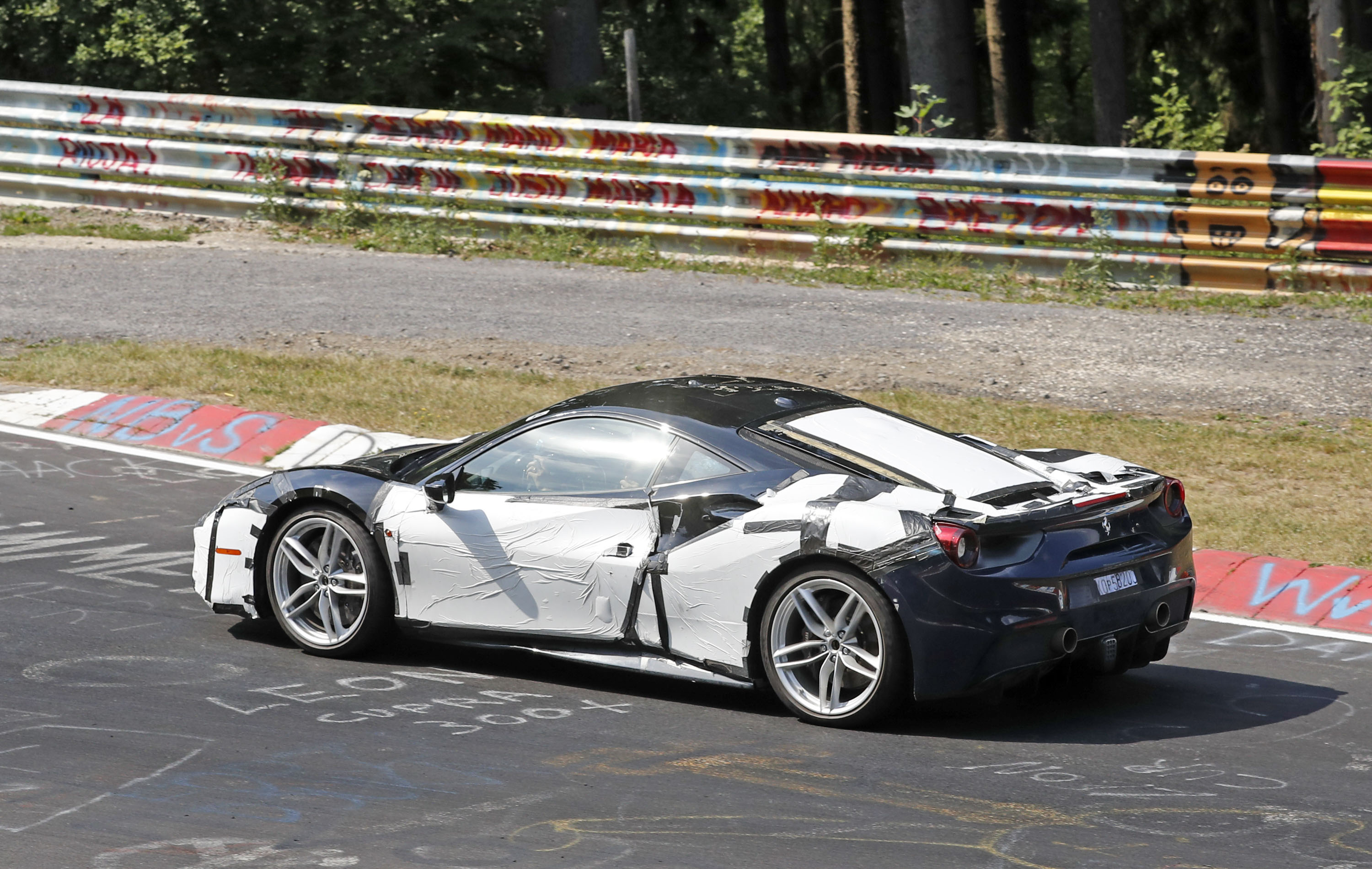 Leaked Specs Say The Ferrari 488 GTO Will Carry The Most Powerful V 8  Engine In Ferrari History | Top Speed. »