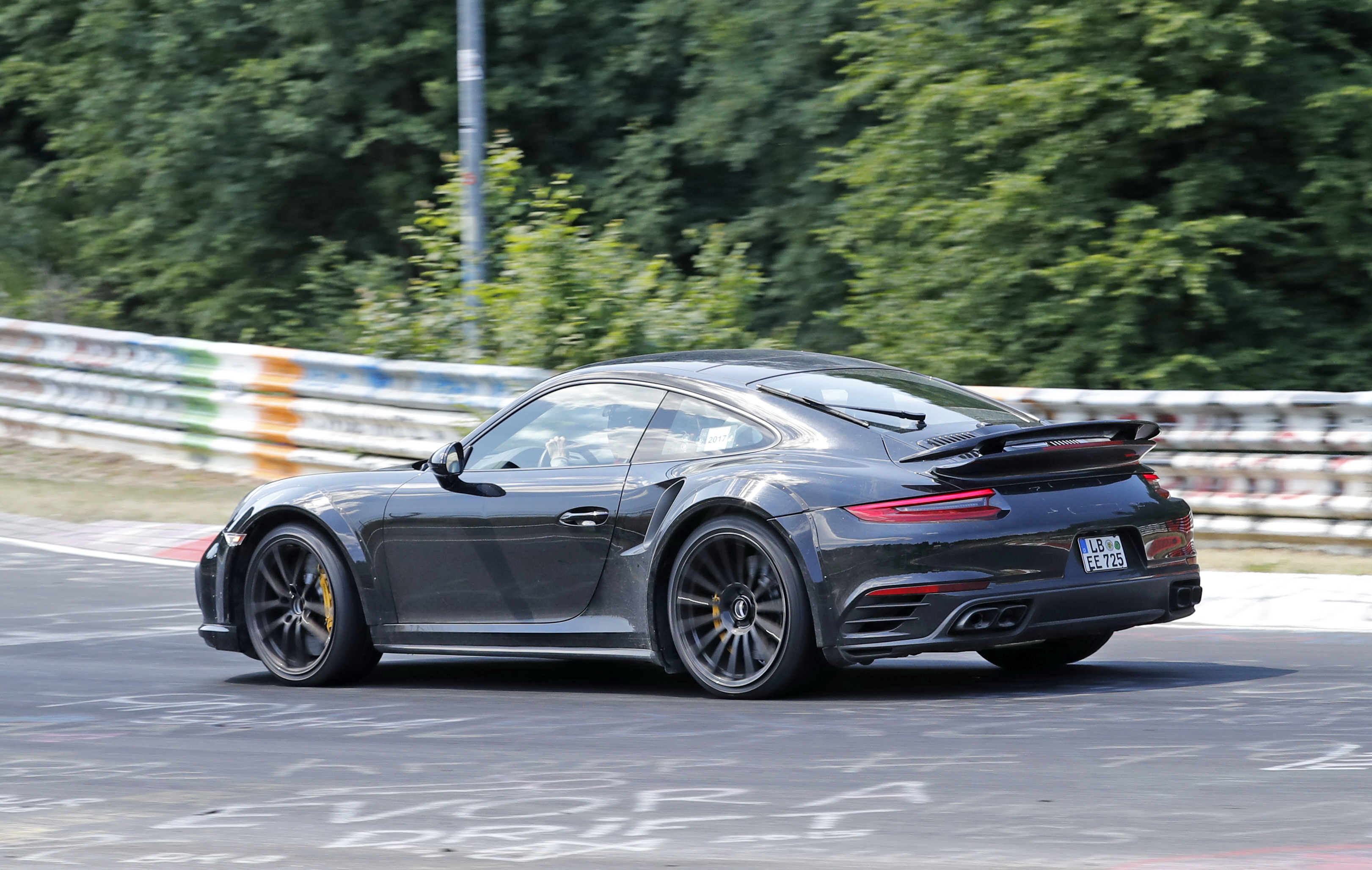 Porsche 911 992 New Gt3 Snapped Cold Weather Testing Car Magazine
