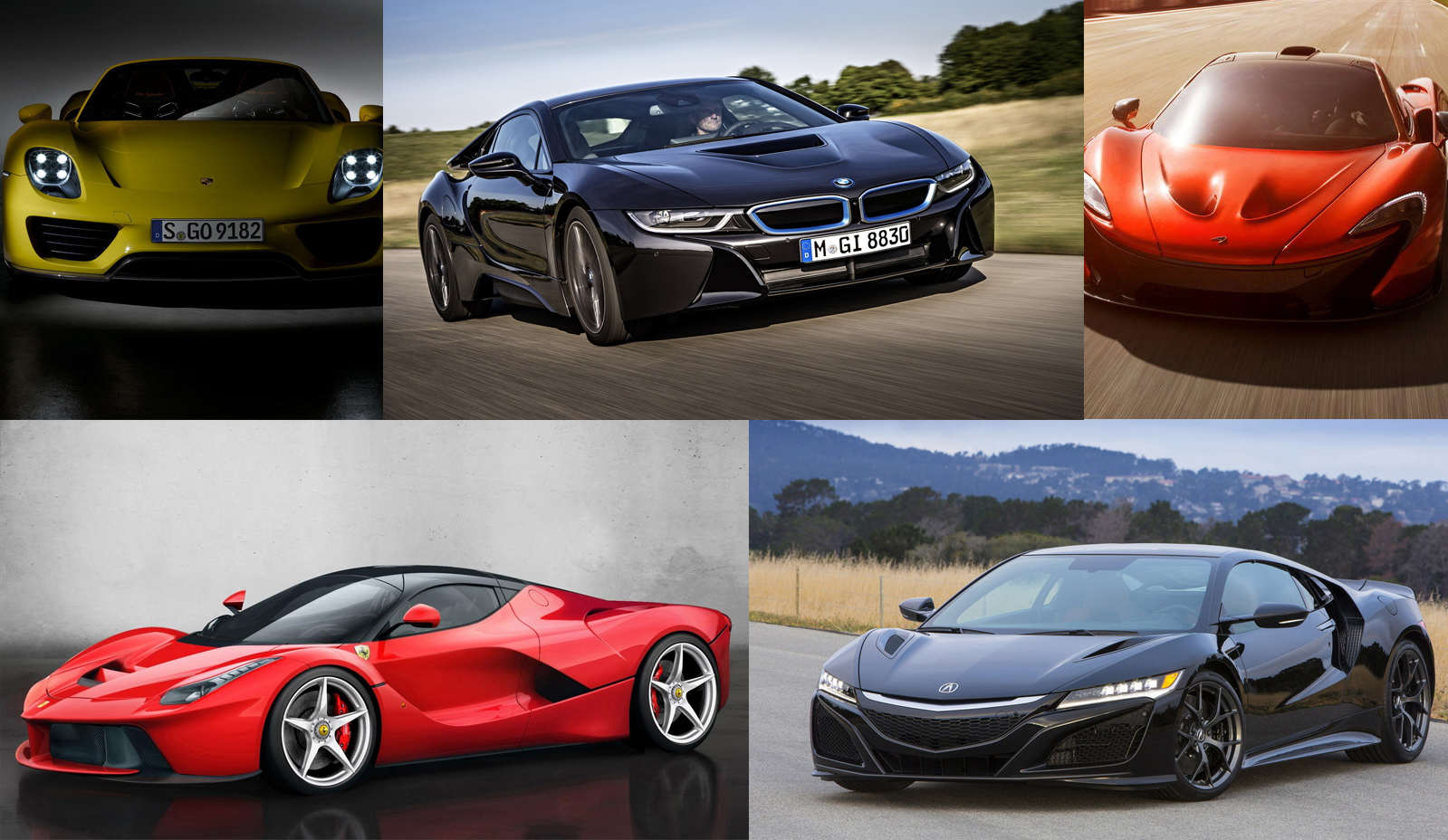 TopSpeeds Top Hybrid Sports Cars Guide Top Speed - Top 5 sports cars