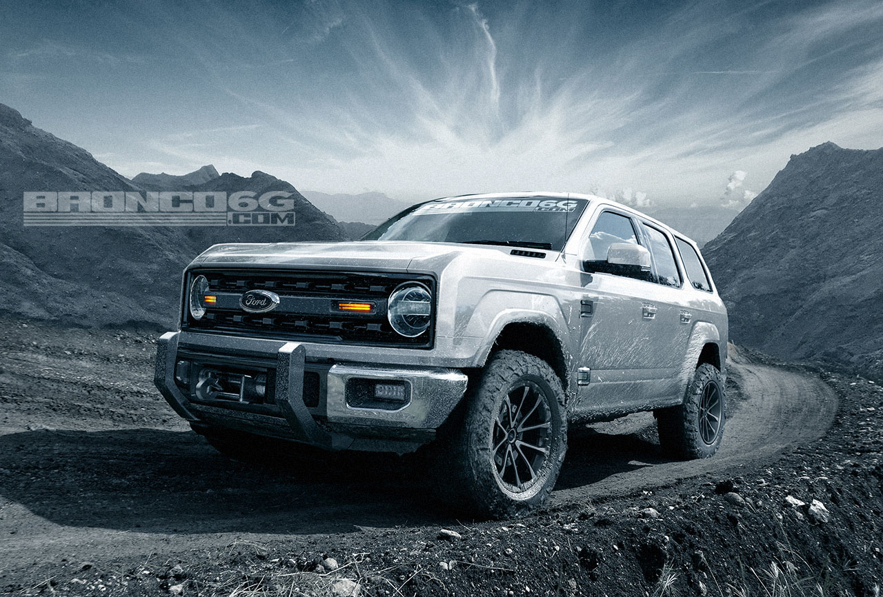 The 2020 Ford Bronco And 2019 Ford Ranger Will Be One And The Same