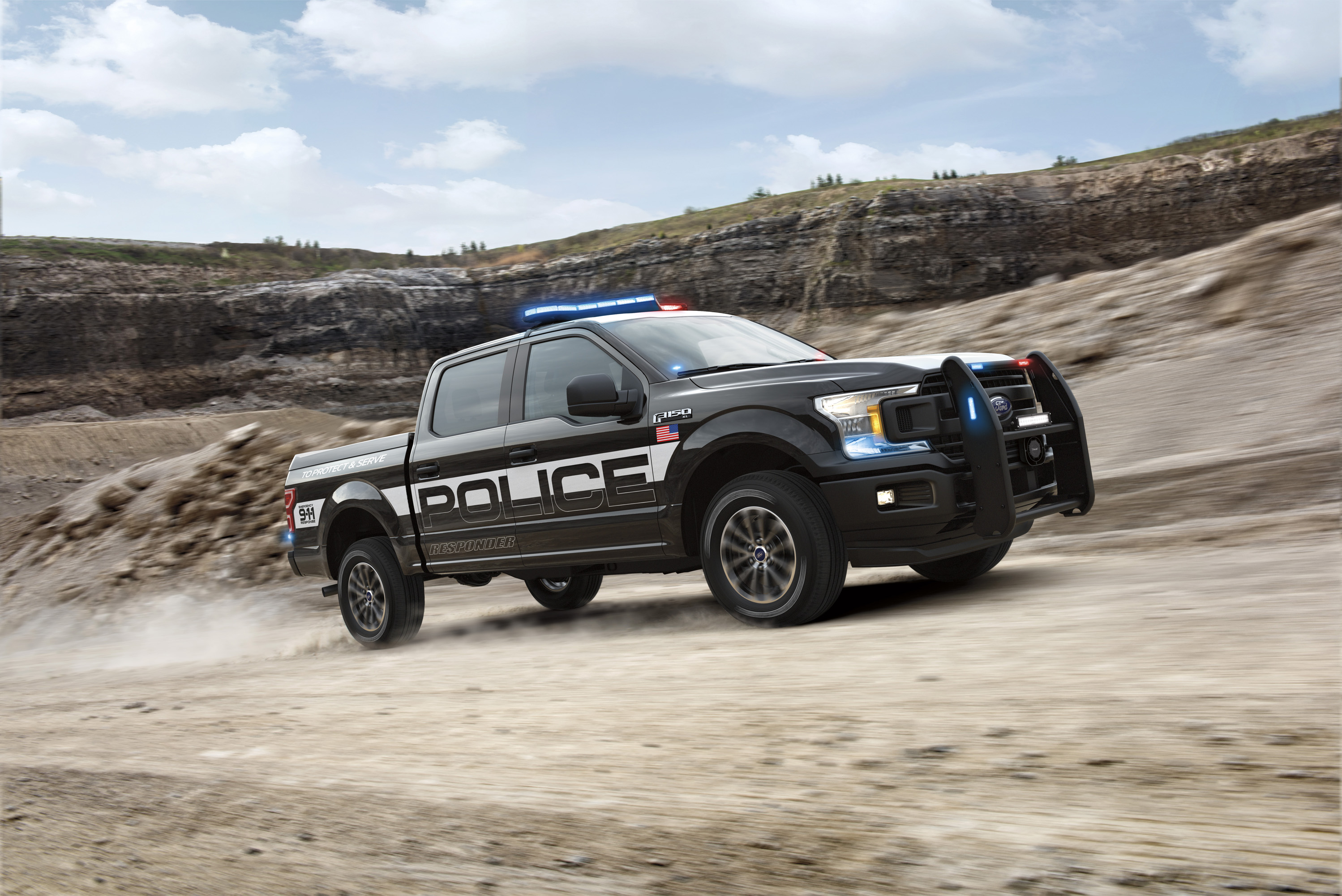 2018 ford f 150 police responder top speed