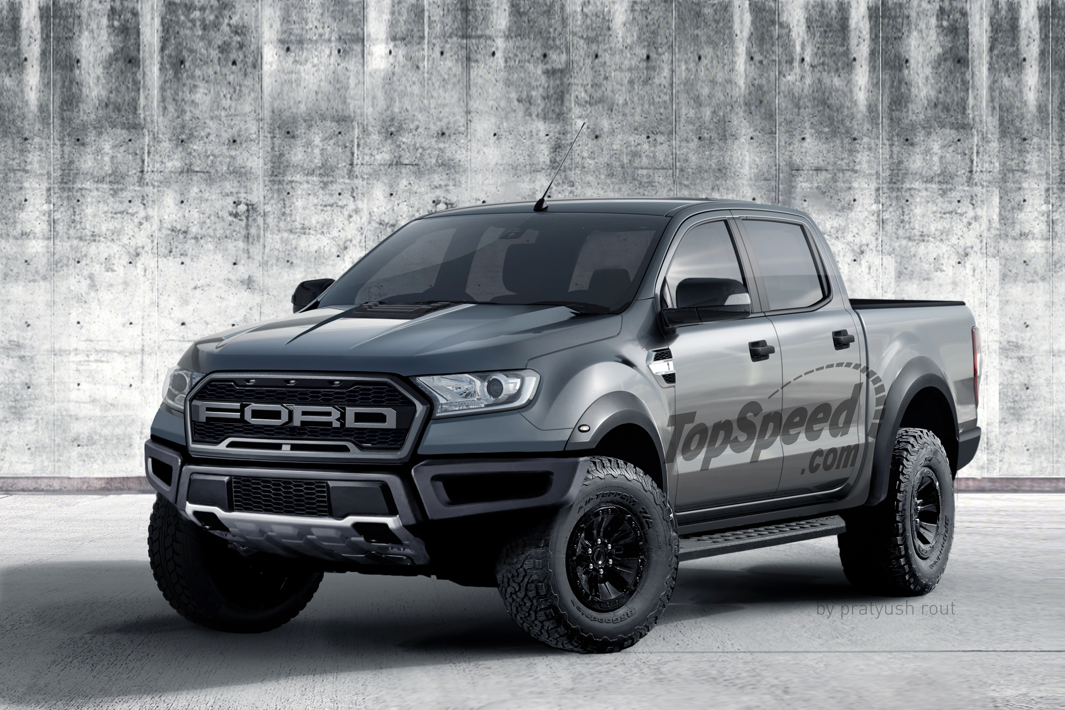 This is it meet the 2019 ford ranger raptor top speed