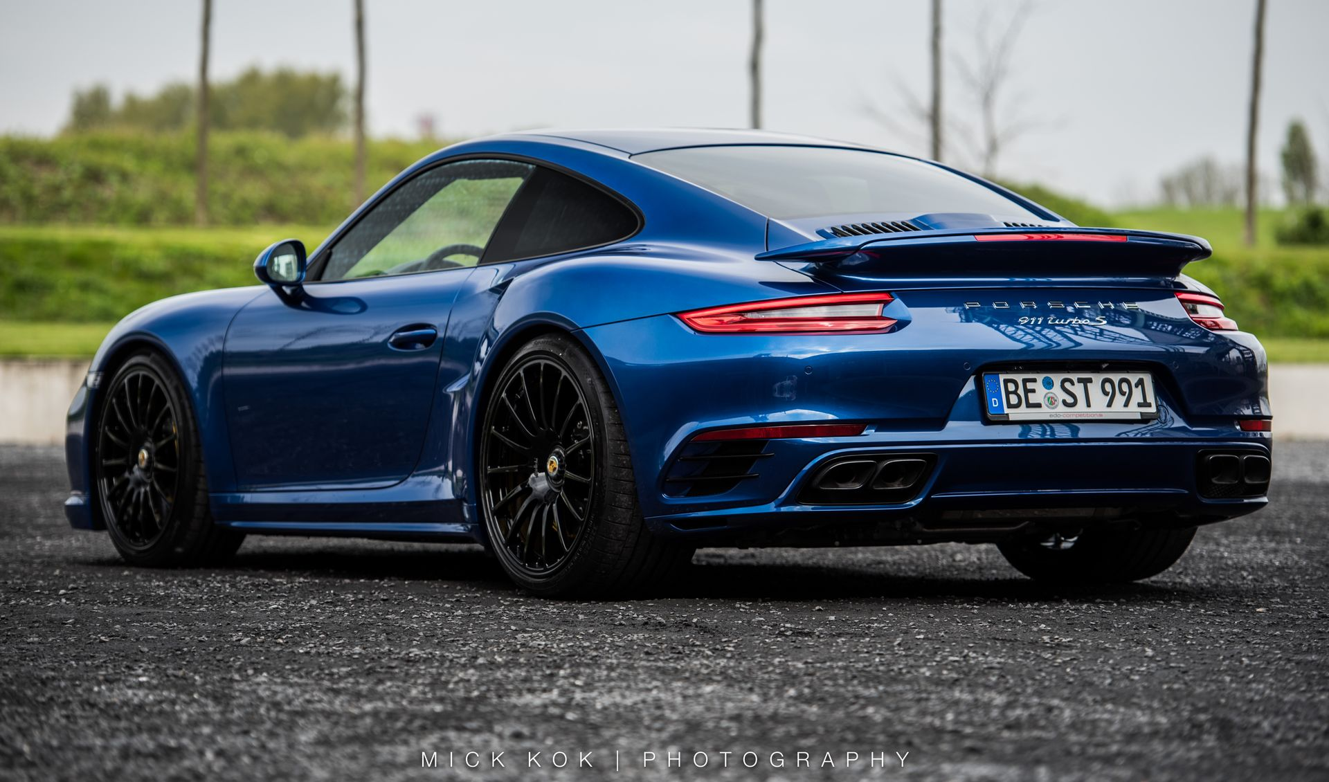 e84ce62bddcf 2017 Porsche 911 Turbo S Blue Arrow By Edo Competition | Top Speed