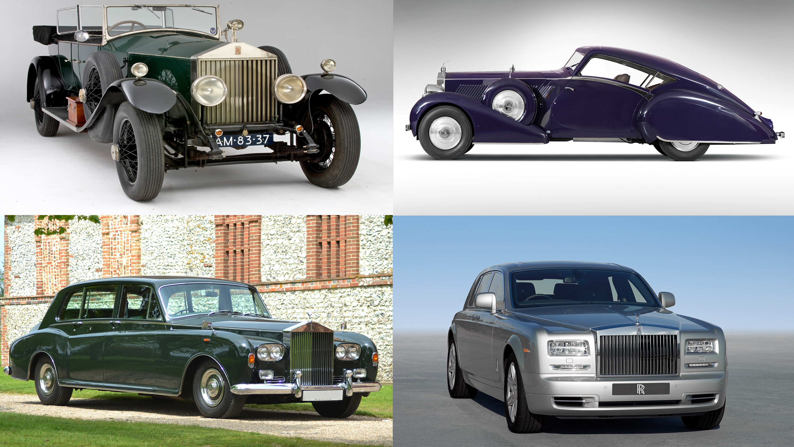 the gilded history of the rolls-royce phantom | top speed