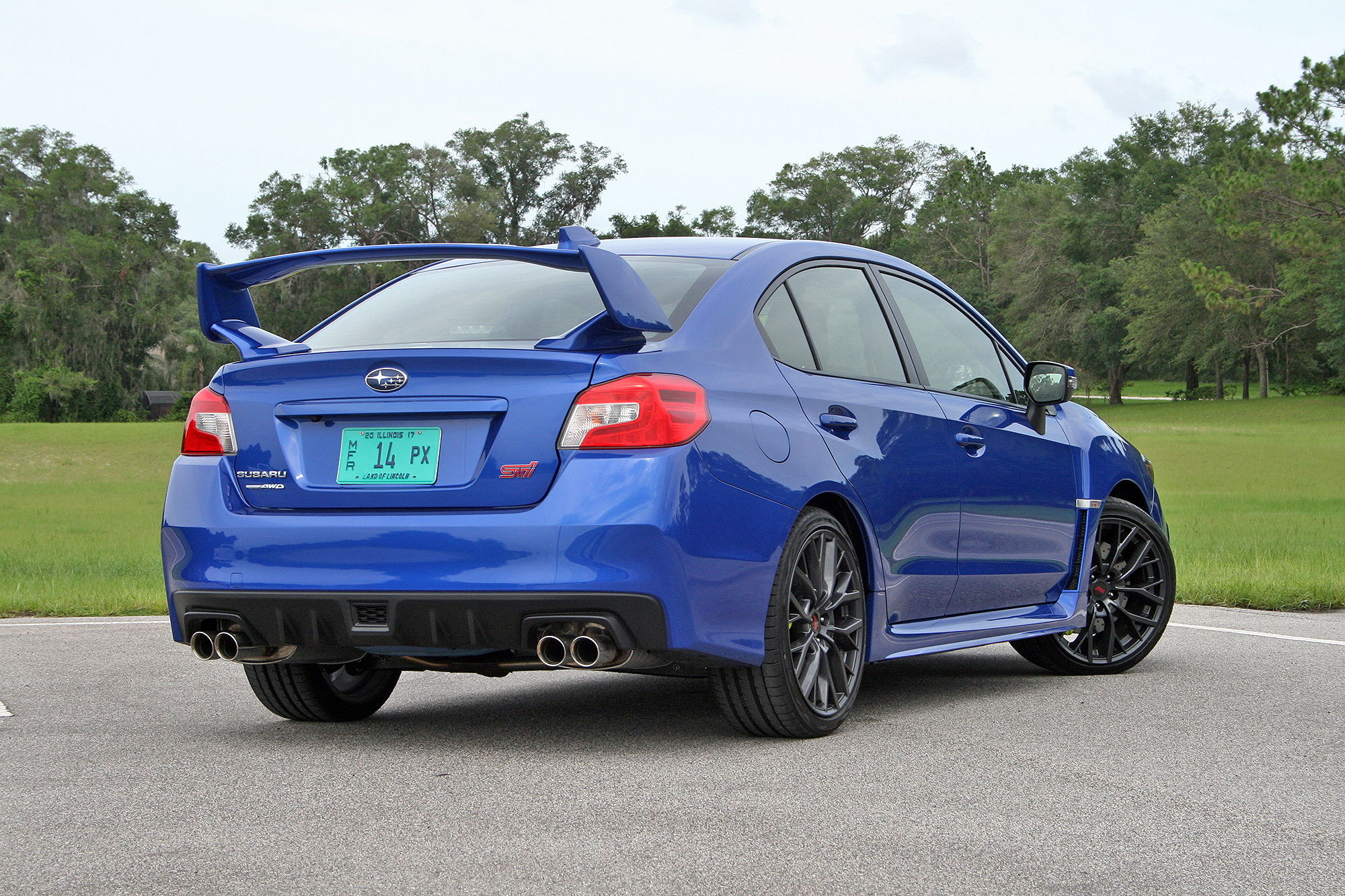 the highs and lows of subaru s 2018 wrx sti top speed